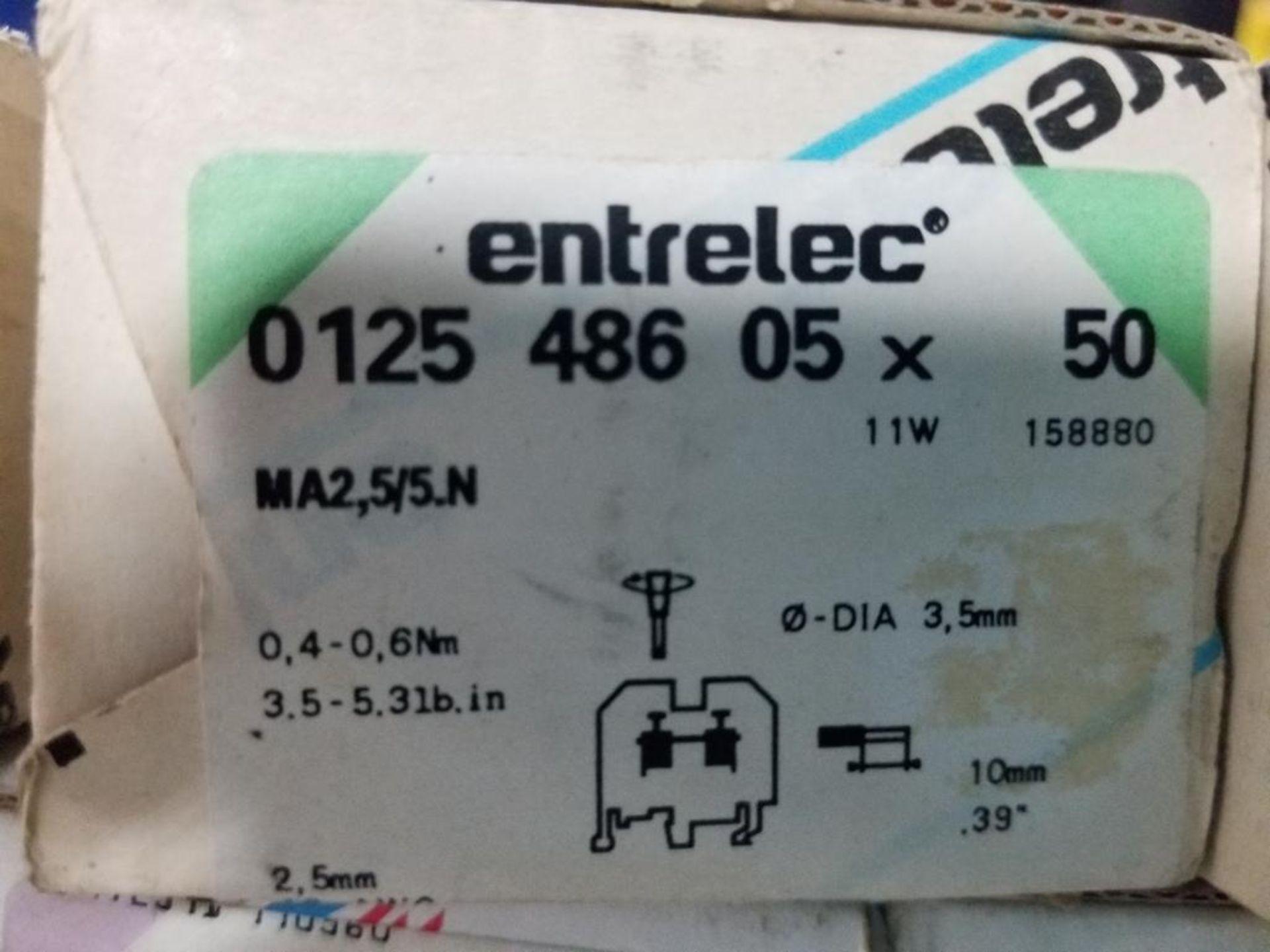 Assorted Entrelec fuse holder blocks. - Image 9 of 10