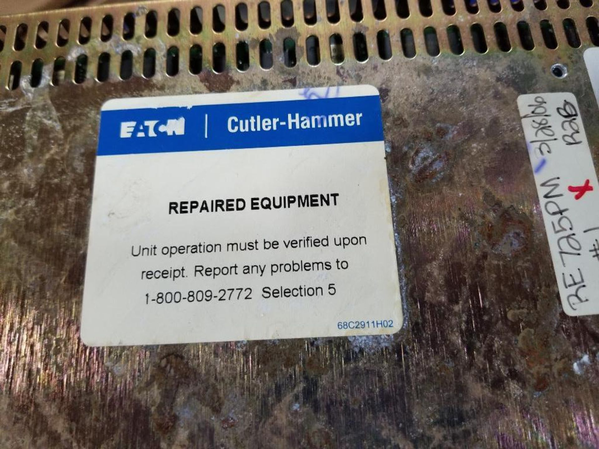 Qty 3 - Cutler Hammer Panelmate. One marked repaired. - Image 7 of 8