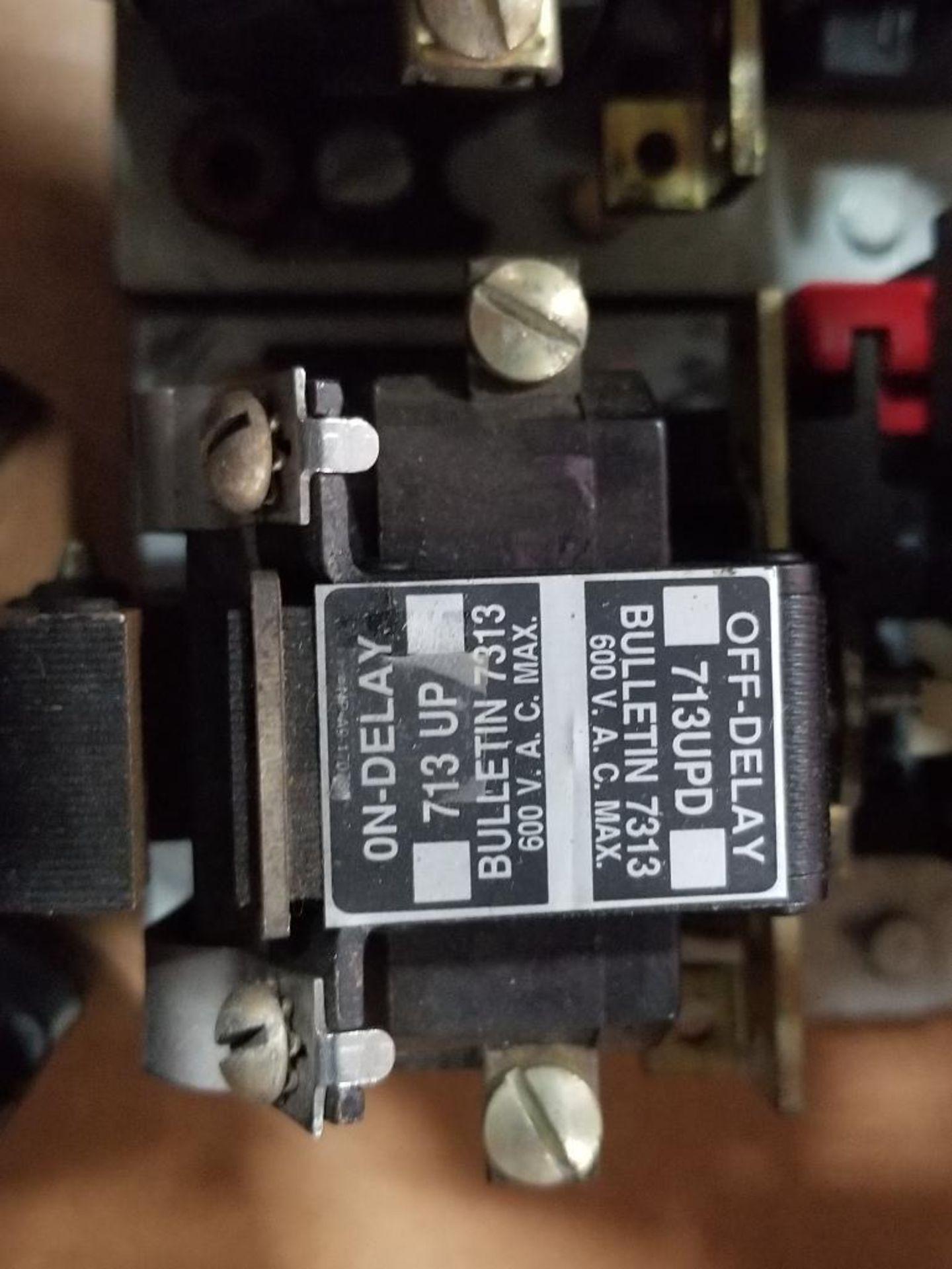 Assorted electrical relays. Sylvania, Warner, Allen Bradley. - Image 4 of 8