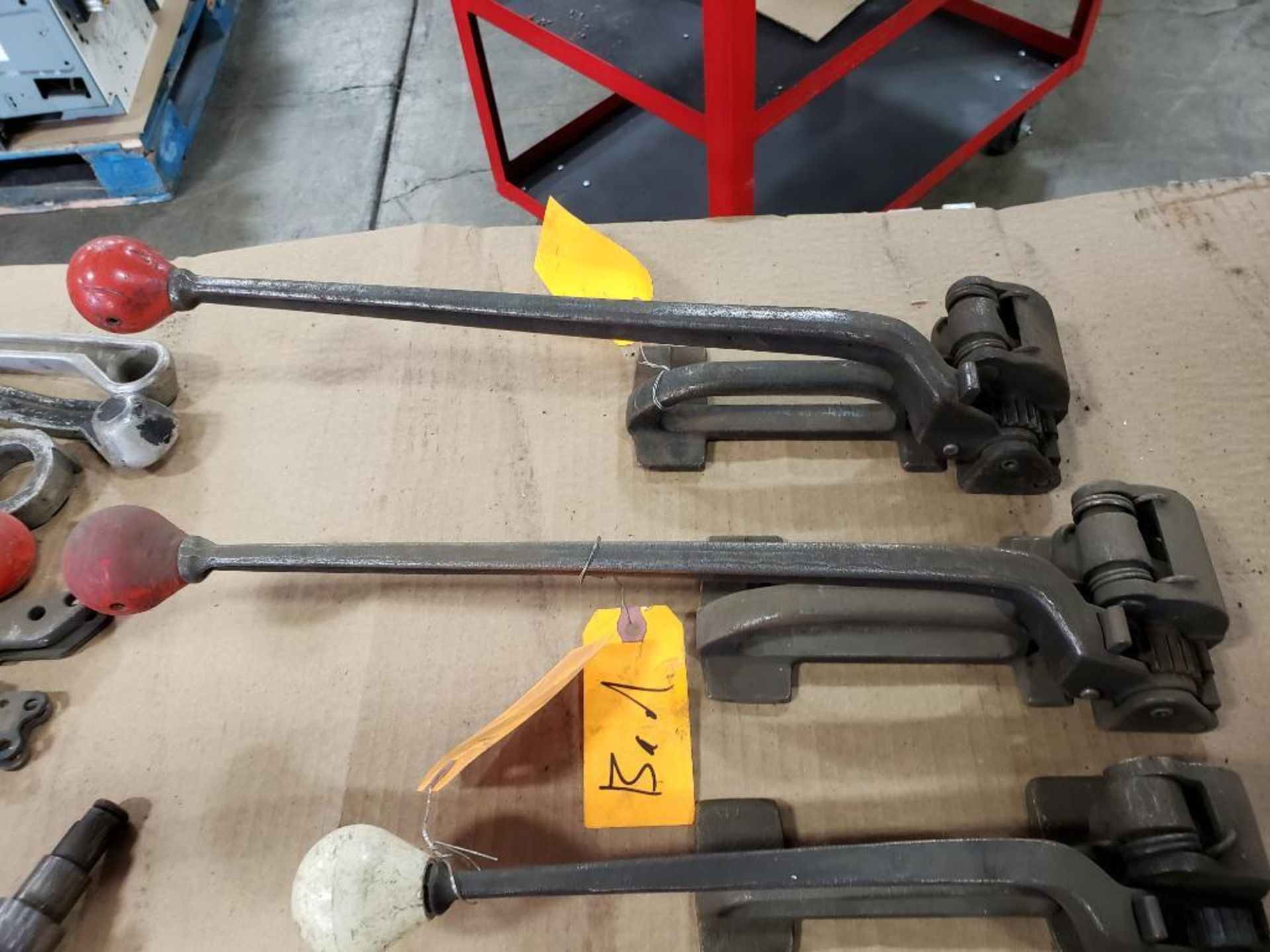 Assorted banding tools for parts or repair. - Image 9 of 9