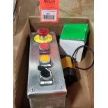 Assorted electrical. Schneider Electric, Atlas Copco.