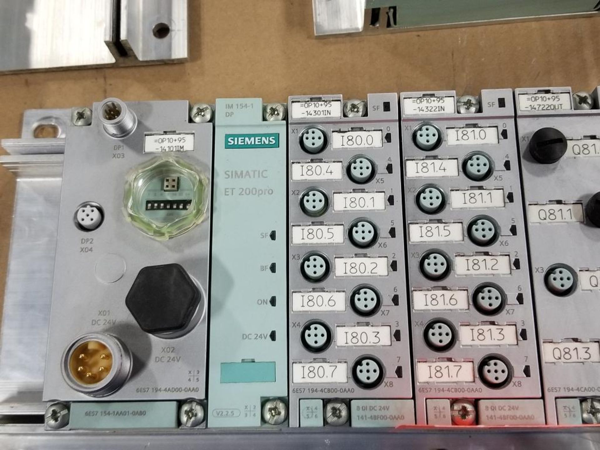Siemens ET200-pro flow control line. 6ES7-154-1AA01-0AB0. - Image 2 of 3