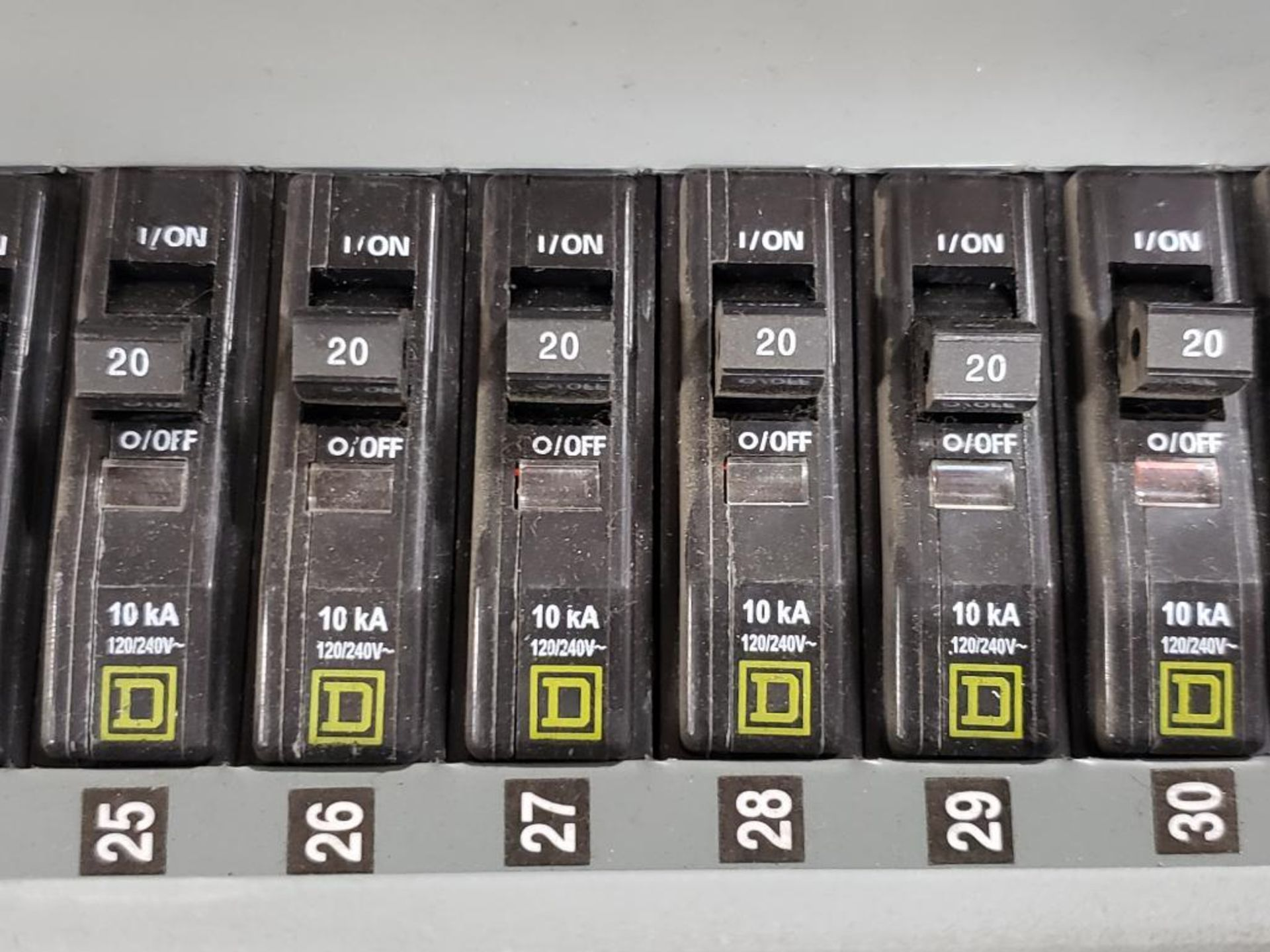 Square-D LX62TS Type-1 Enclosure. - Image 8 of 14