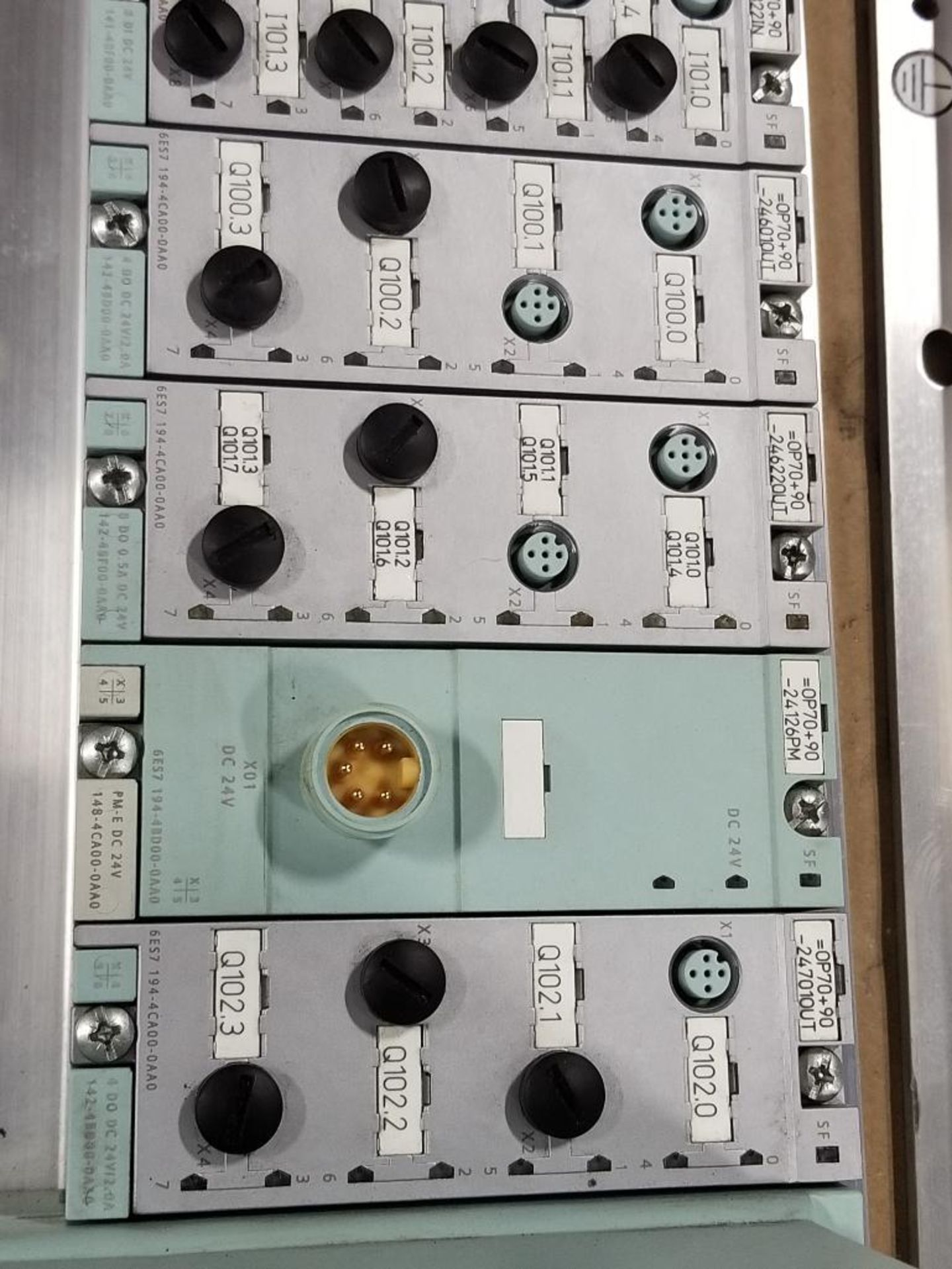 Siemens DSe-ST 3RK1304-5KS40-4AA0 disconnect module with flow control line. - Image 3 of 5