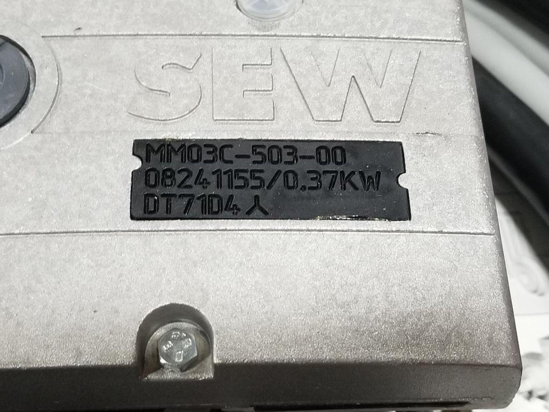 SEW Eurodrive MQD32A/MM03C-503-00/Z238G 0-AGB Drive. - Image 2 of 7