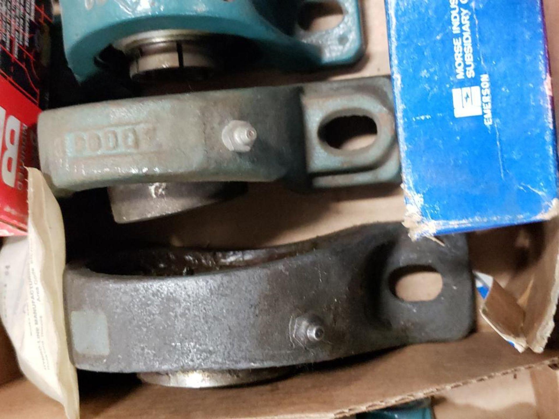 Assorted bearings, pillow block bearings. Browning, Fafnir, SealMaster. - Image 2 of 4