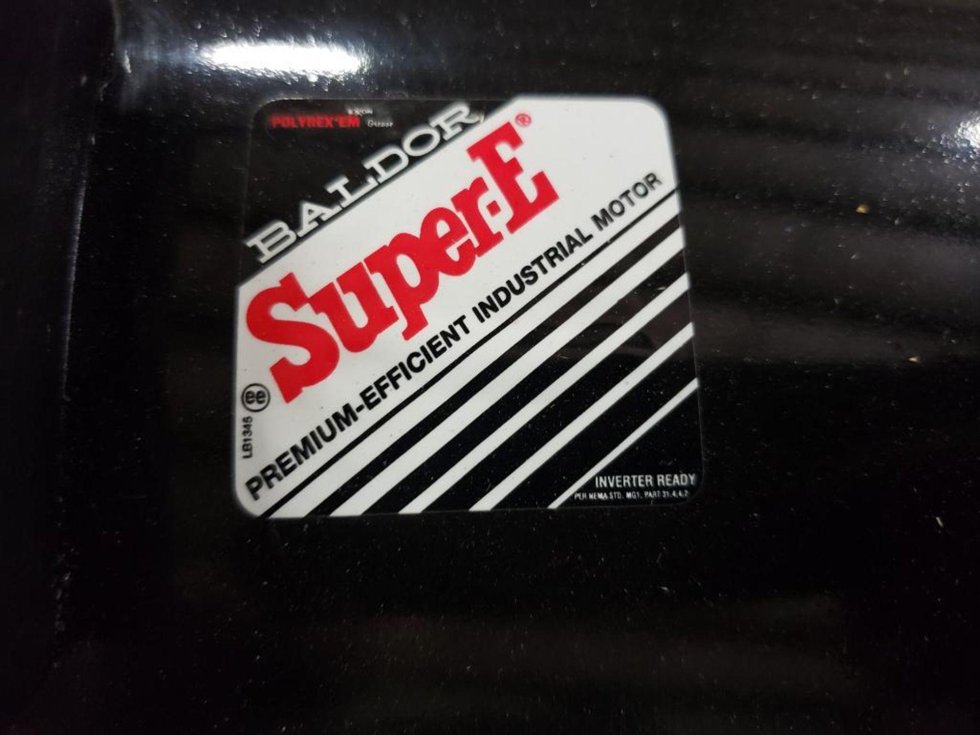 20HP Baldor Reliance 3PH SuperE Motor. 39R046X101G1. 208-230/460V, 3510RPM, 254T-Frame. - Image 6 of 7
