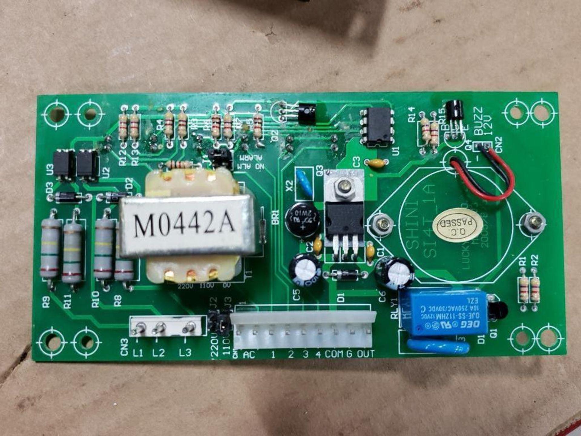 Qty 3 - Shini Si4T-1A control board. - Image 8 of 11