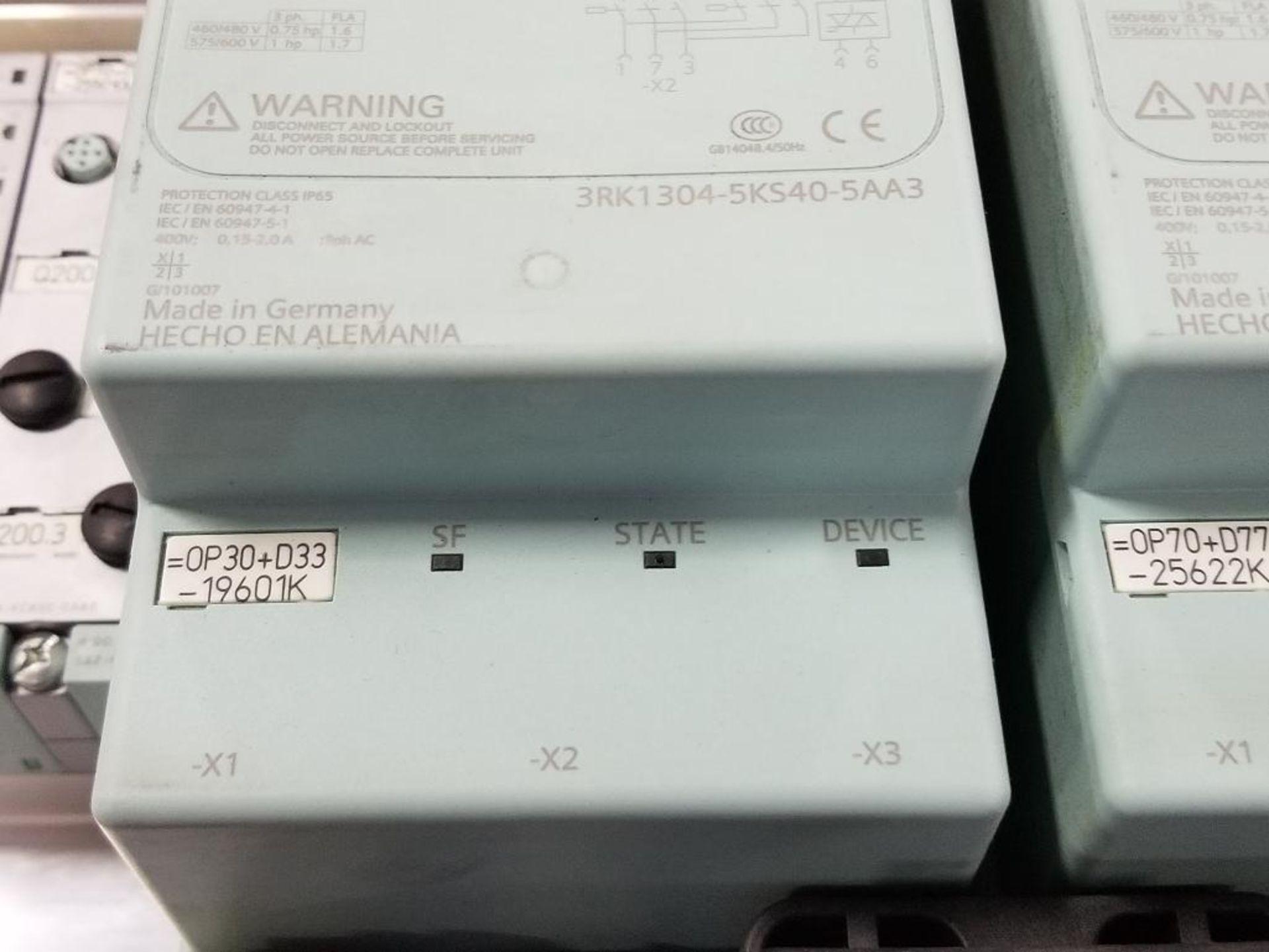Qty 2 - Siemens RSe-ST 3RK1304-5KS40-5AA3 Reversing starter. - Image 5 of 7