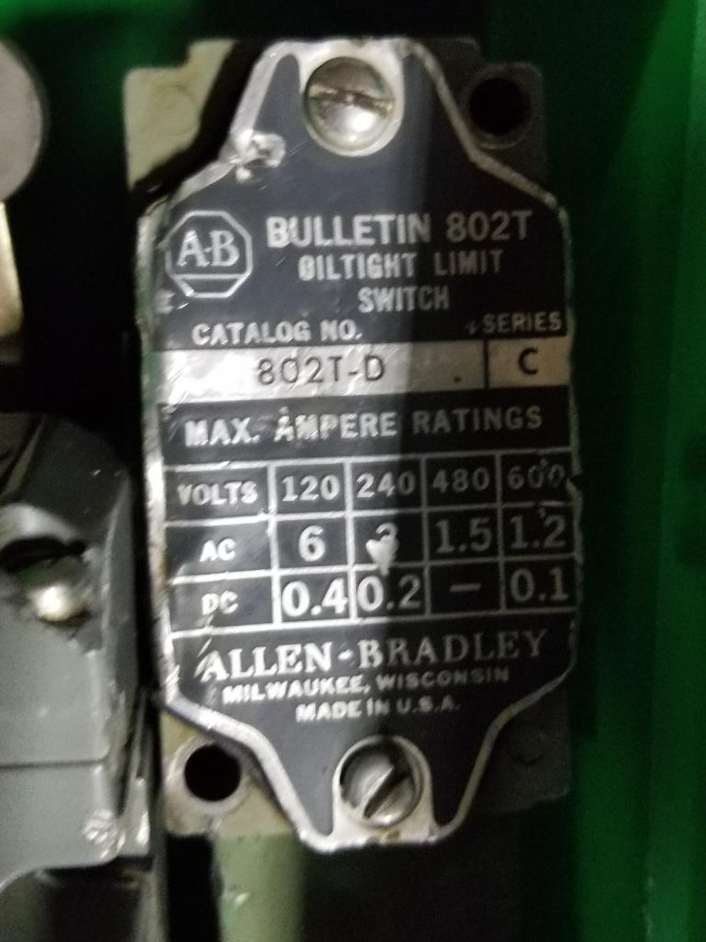 Assorted electrical limit switches. Allen Bradley, Square-D. - Image 5 of 7