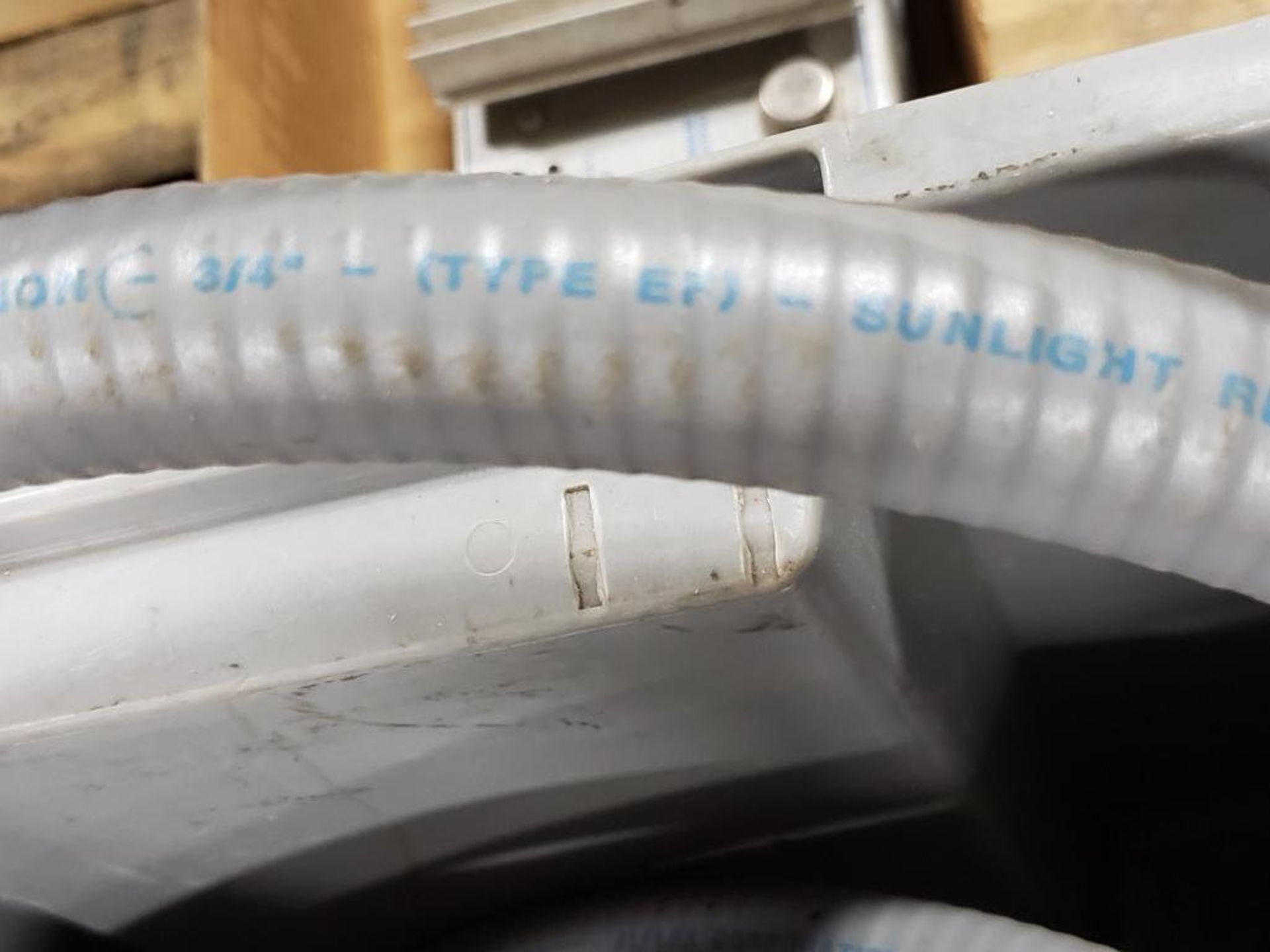 "Alflex Corp. 3/4"" Sunlight resistant conduit. - Image 4 of 5"