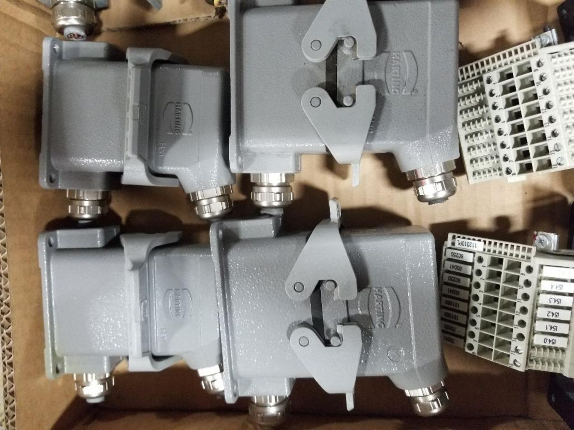 Qty 16 - Harting connection plugs. - Image 4 of 5