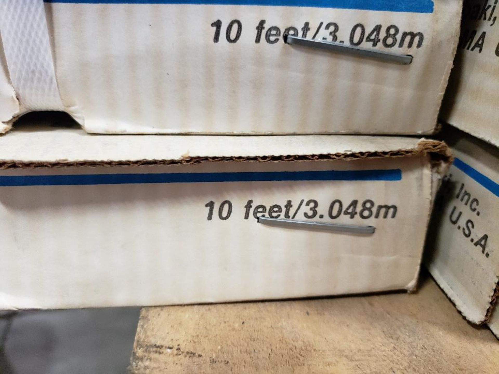 Qty 3 - 10FT US Tsubaki RS100 Roller Chain. New in Box. - Image 3 of 3