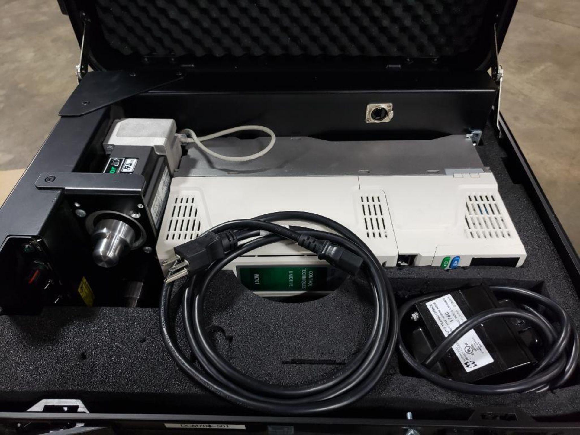 Travel test diagnostic Emerson drive unit. Emerson control Techniques DCM700. Unidrive M701. - Image 3 of 21