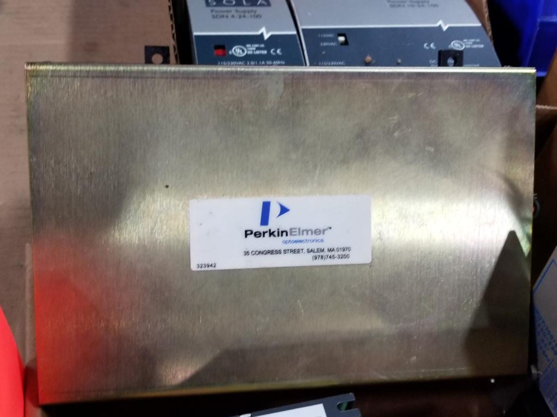 Assorted electrical power supply. Condor, PerkinElmer, Automation Direct. - Image 4 of 6