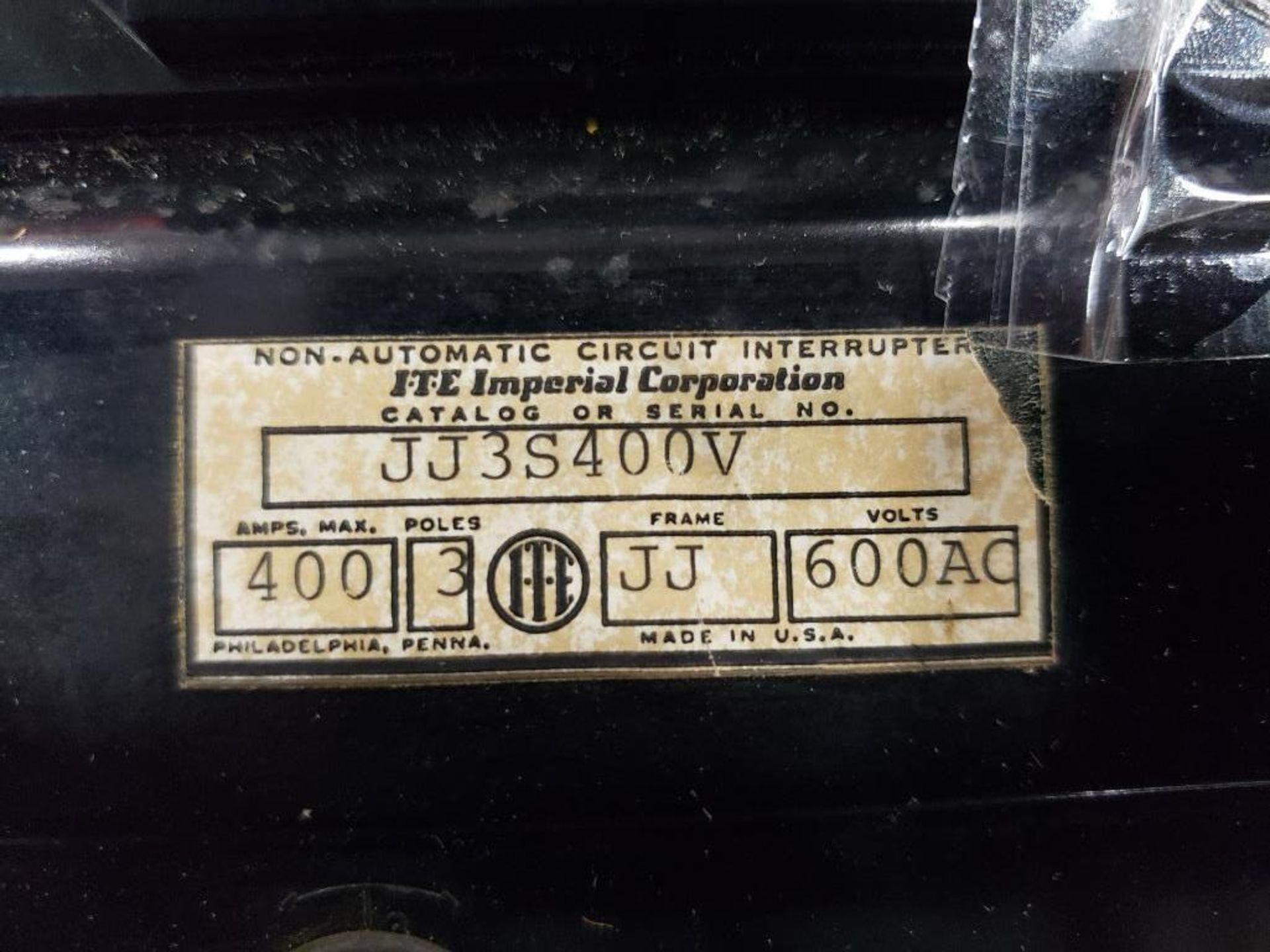 ITE JJ3S400V Circuit breaker. 400AMP. - Image 2 of 4