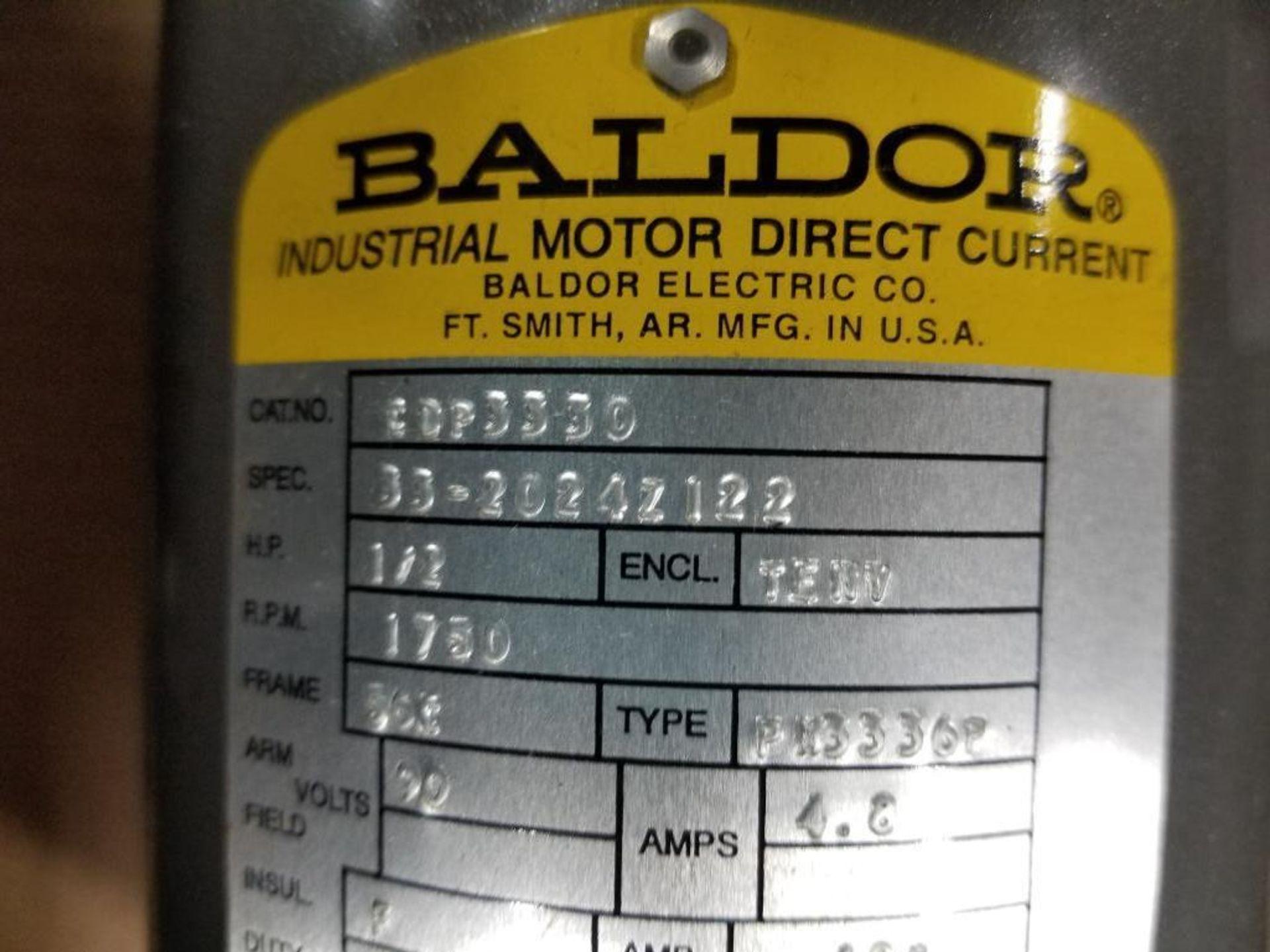 1/2HP Baldor industrial motor COP3330, 33-2024Z122. 1750RPM, 56C-Frame. - Image 2 of 6