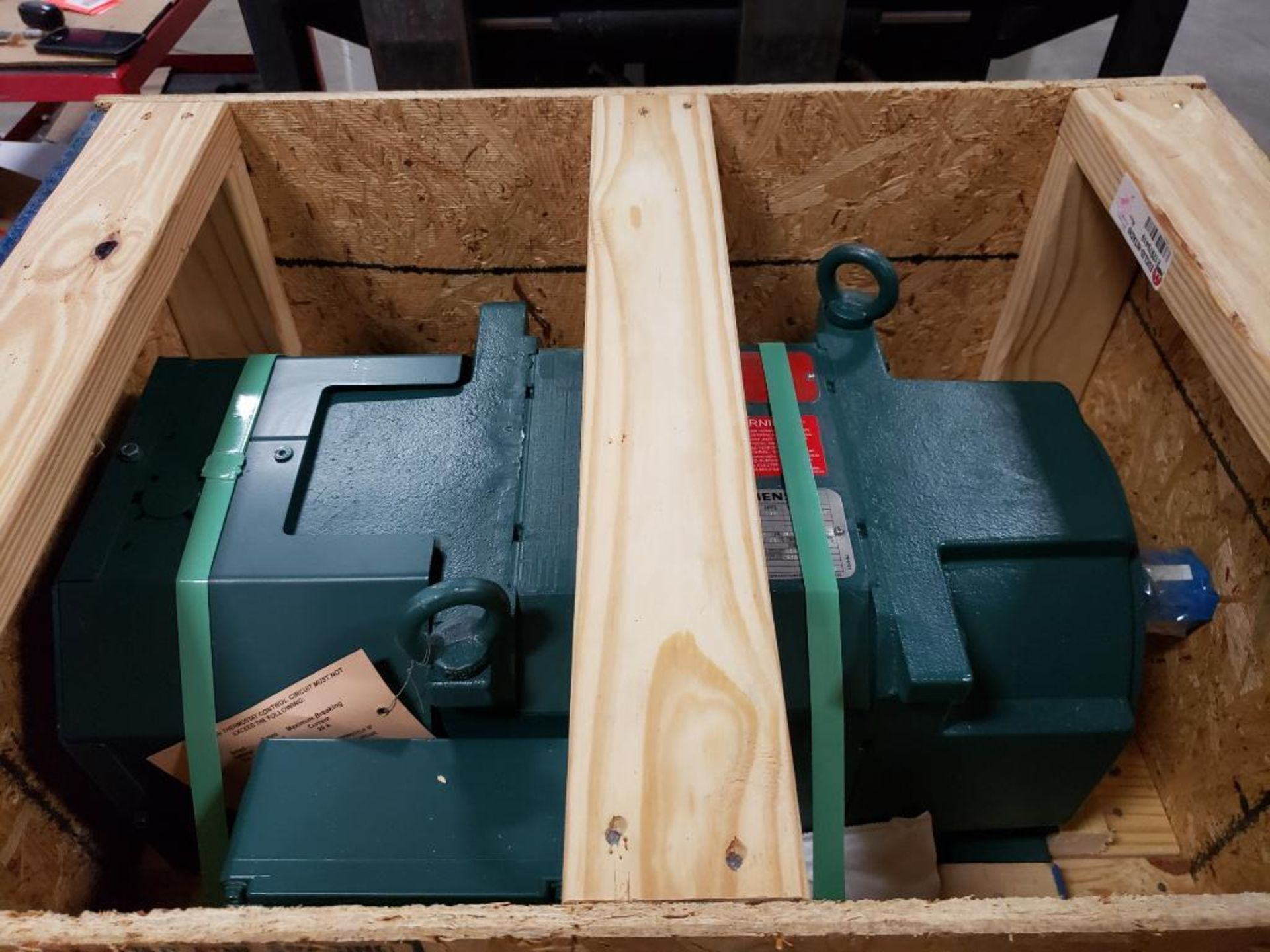 30kW Siemens 3PH Motor. 6949816-001-MHT2. 280V, 3550RM, RL2570Z-Frame.
