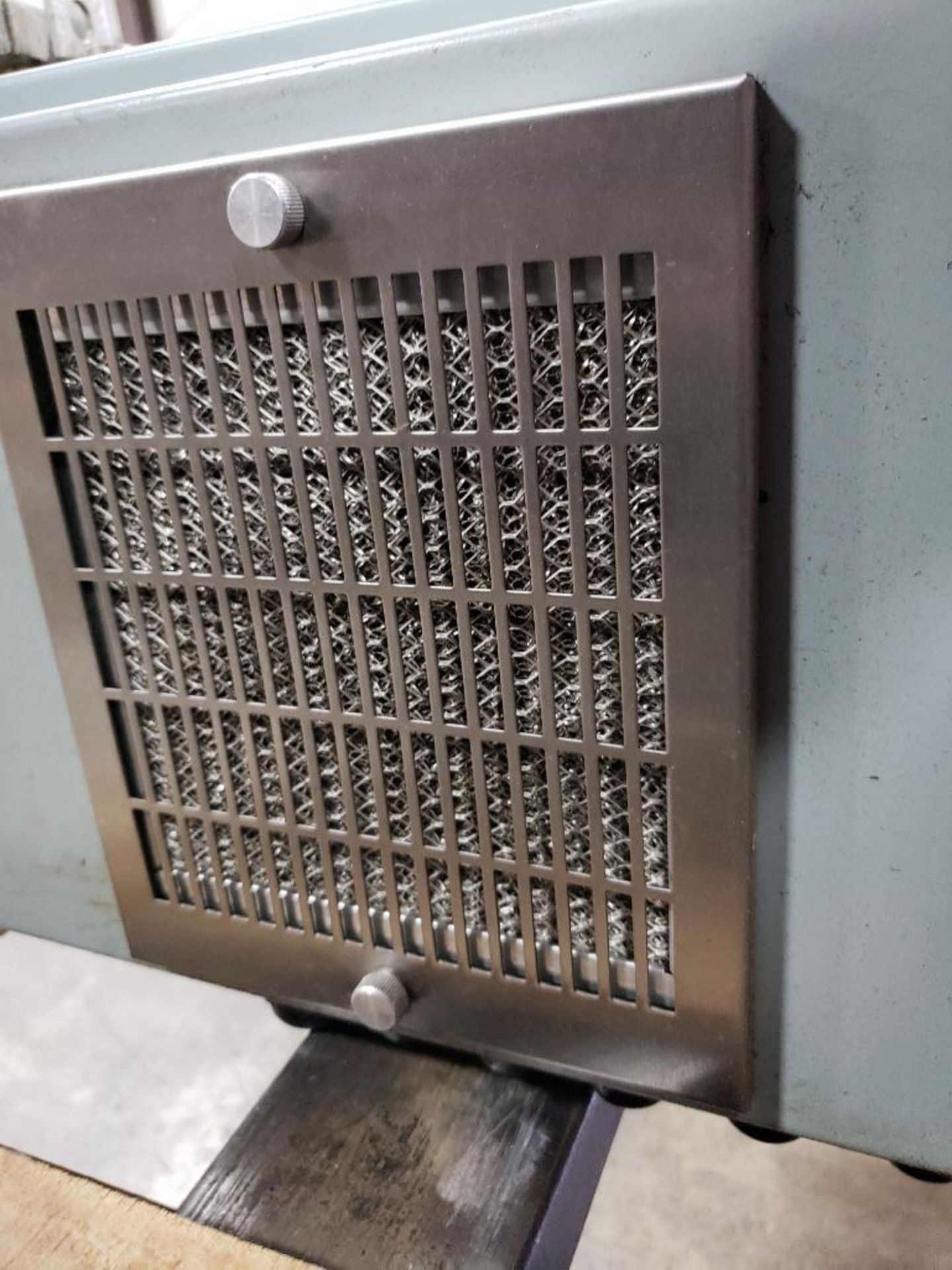 Chiller control cabinet. Hoffman enclosure, Cutler Hammer AF93AG0B007D drive, Allen Bradley drive. - Image 11 of 35