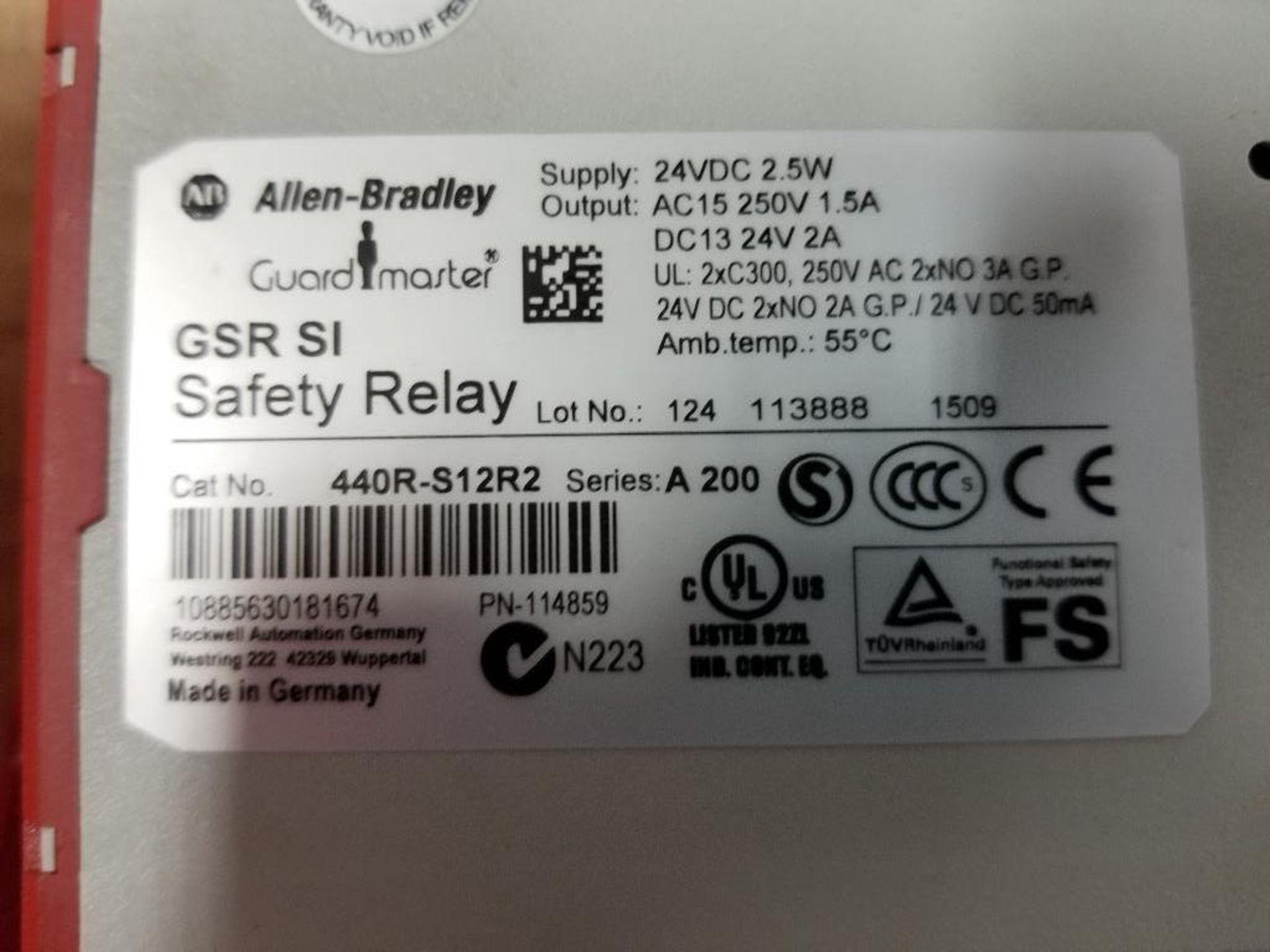 Assorted electrical. Allen Bradley, Schmersal. - Image 6 of 7