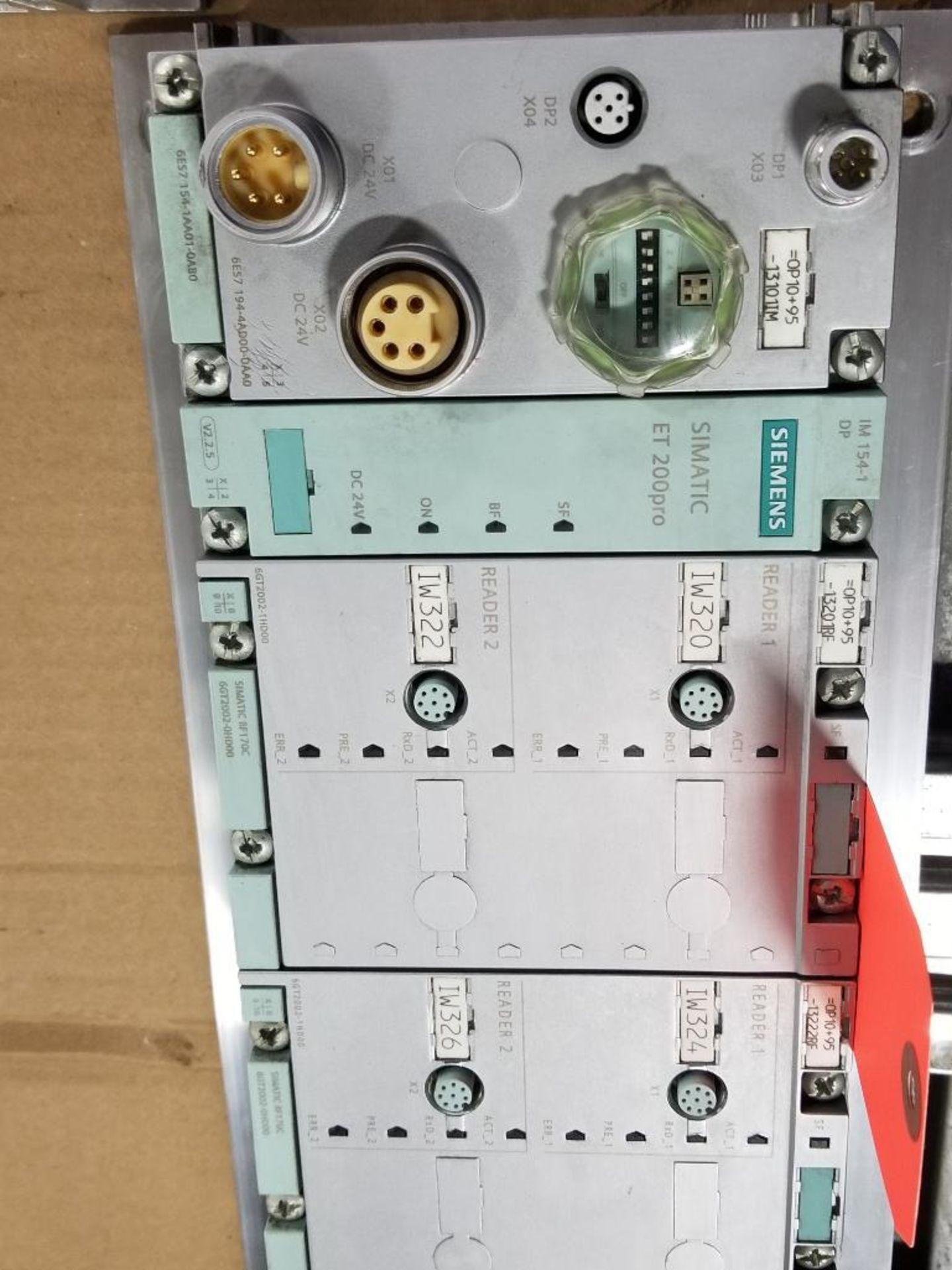 Siemens ET200-pro flow control line. 6ES7-154-1AA01-0AB0. - Image 2 of 5