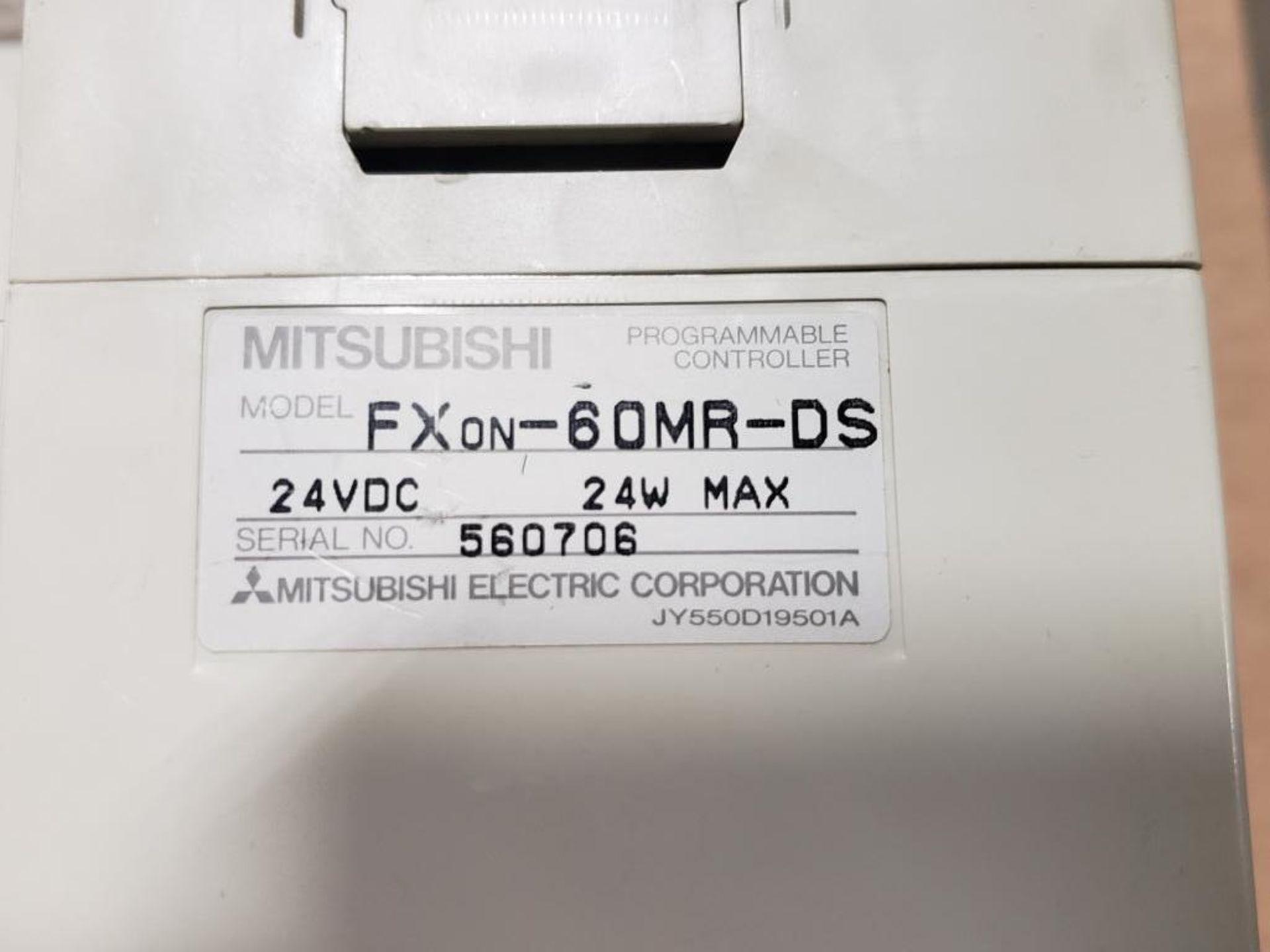 Assorted Mitsubishi electrical. MELSEC FXon-60MR0DS, FXon-8EYR-ES. - Image 4 of 10