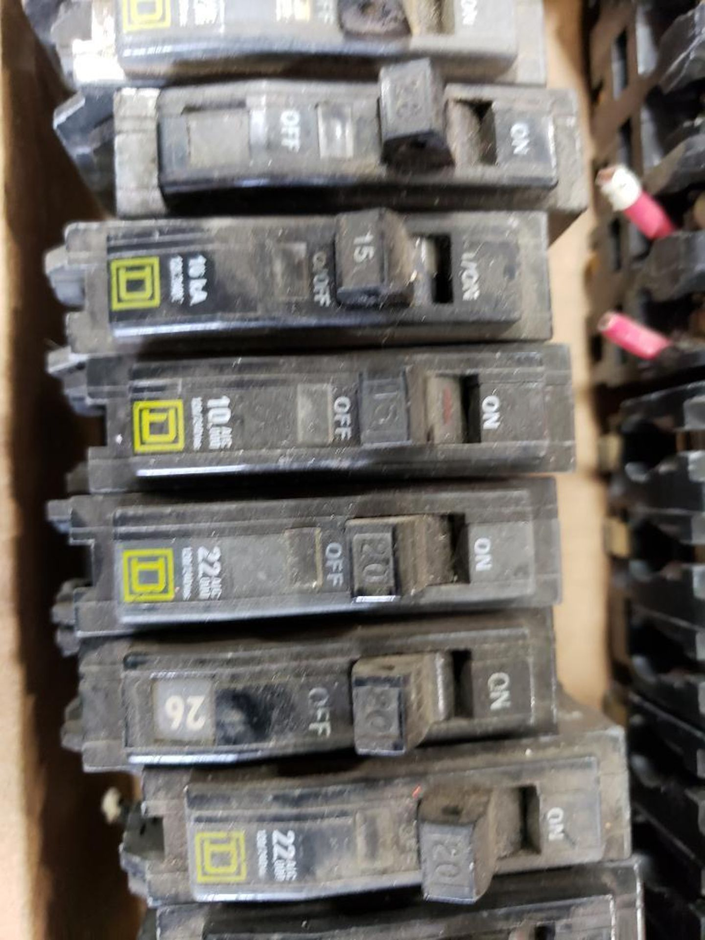 Assorted Square-D Breakers. - Image 7 of 9