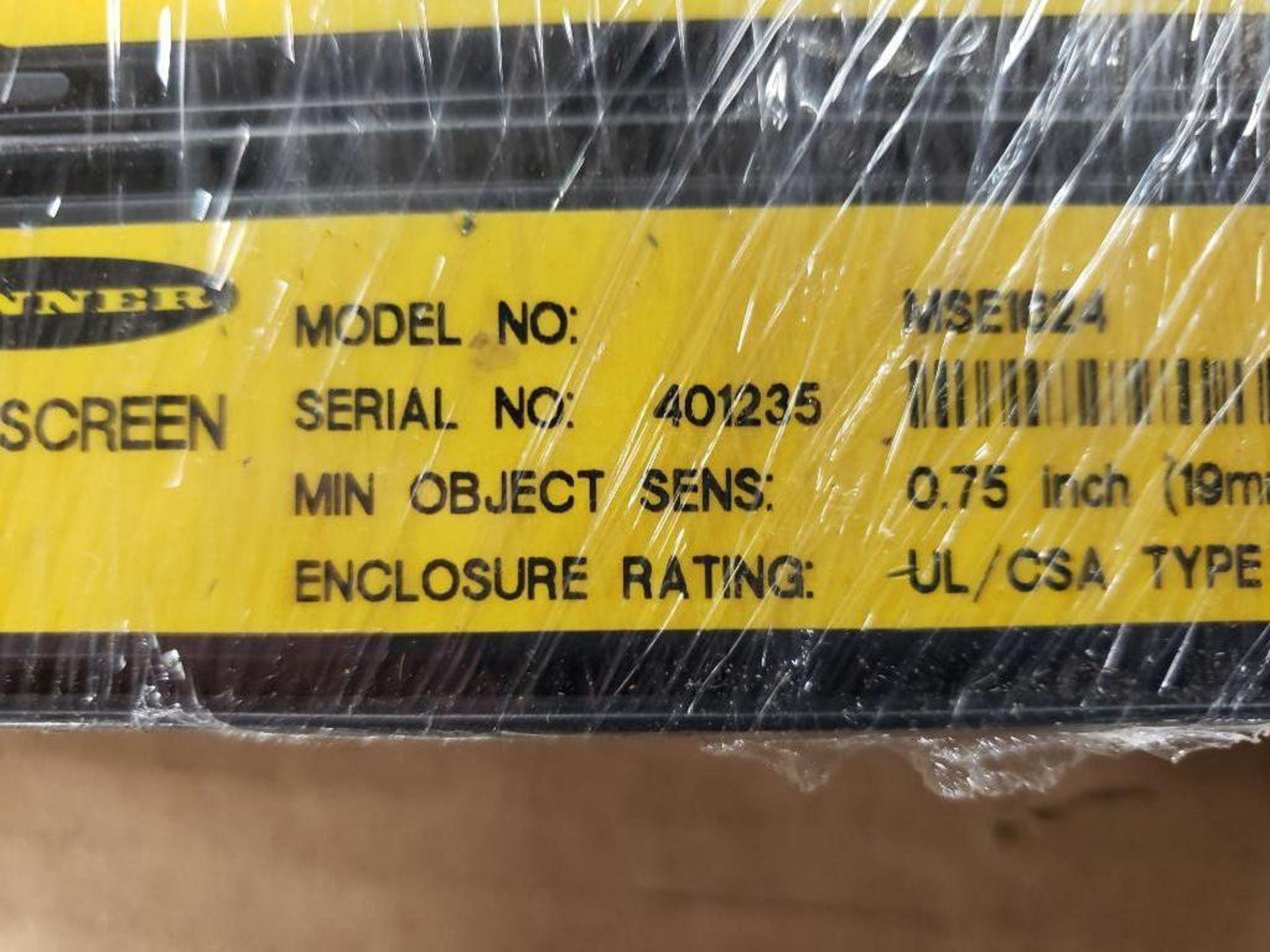 Banner Light curtain transmitter / receiver set. MSE1624, MSR2024. - Image 6 of 7
