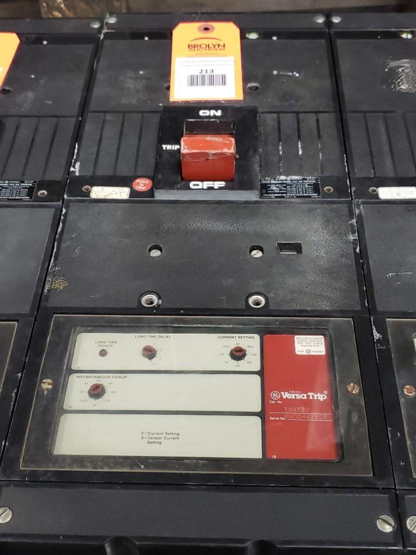 GE Micro Versa Trip T9VT20 Breaker. 1200Amp, 3-Pole.