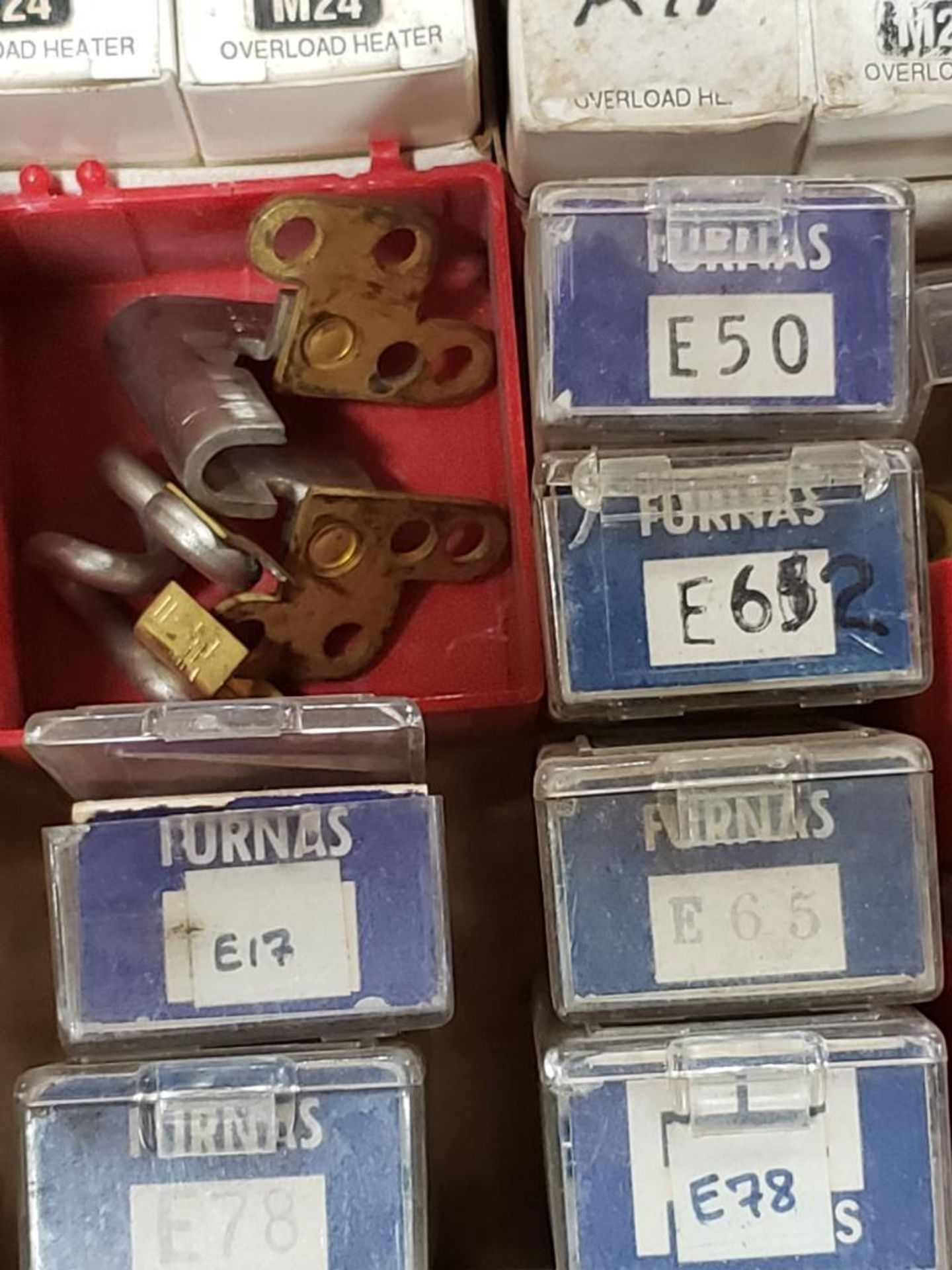 Assorted contactor heaters. Furnas. - Image 6 of 7