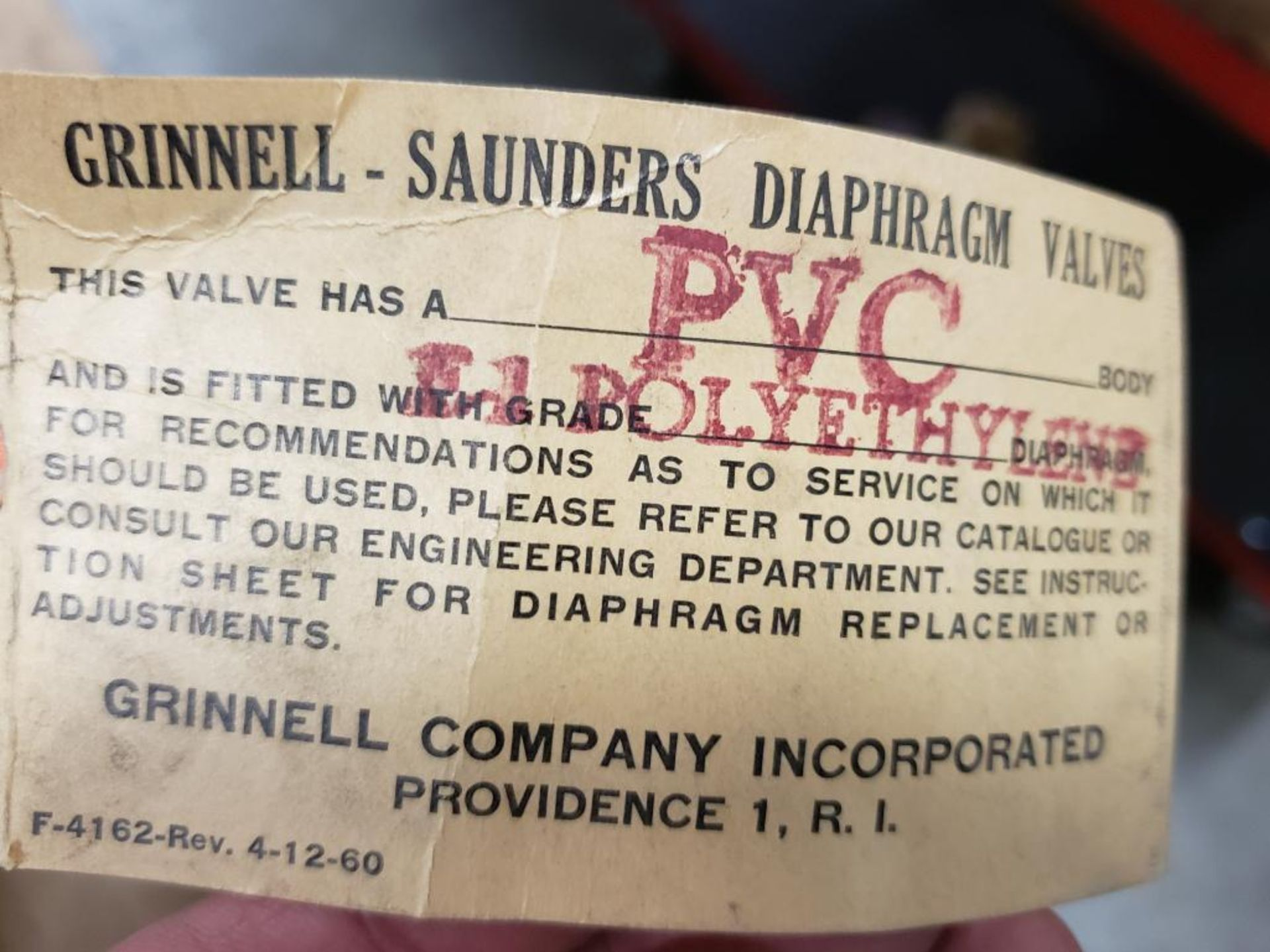 """Grinnell Air motor 32513. 3/4""""-Valve. - Image 2 of 8"""