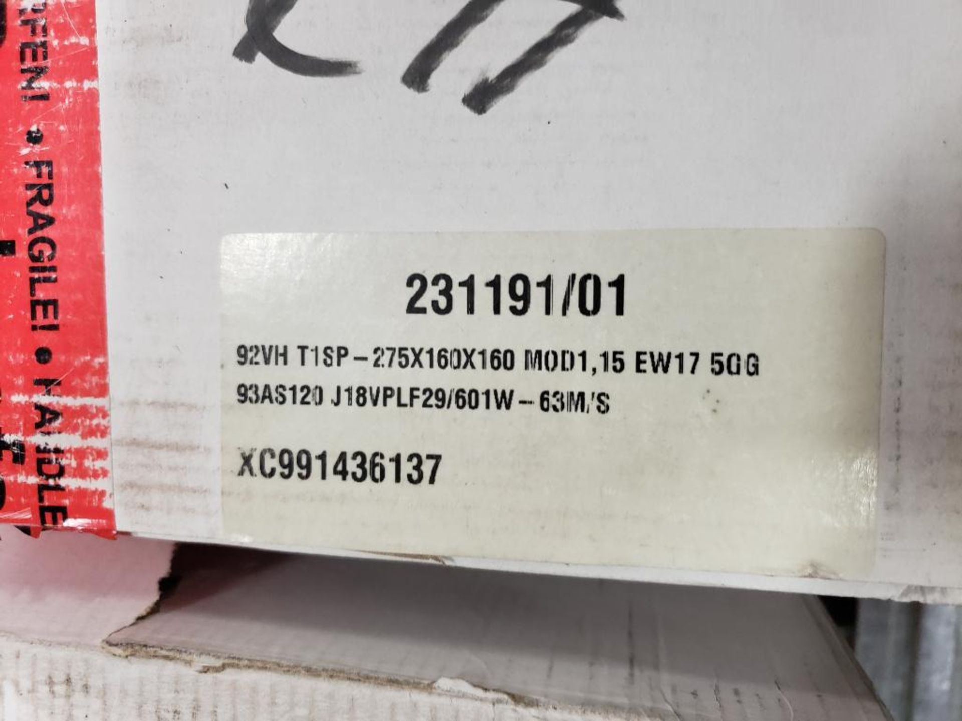 Qty 6 - assorted 3M abrasive grinding wheel. 275x160x160. New in Box. - Image 3 of 6