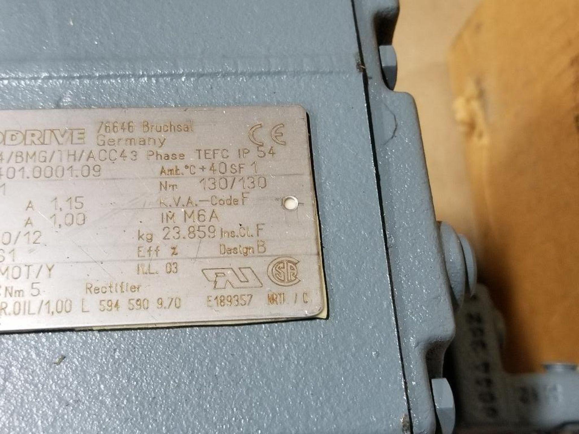 0.37kW Sew-Eurodrive Type-HS40 Motor. 01.1276862401.0001.09 400/460V, 1380/1680RPM. - Image 4 of 5