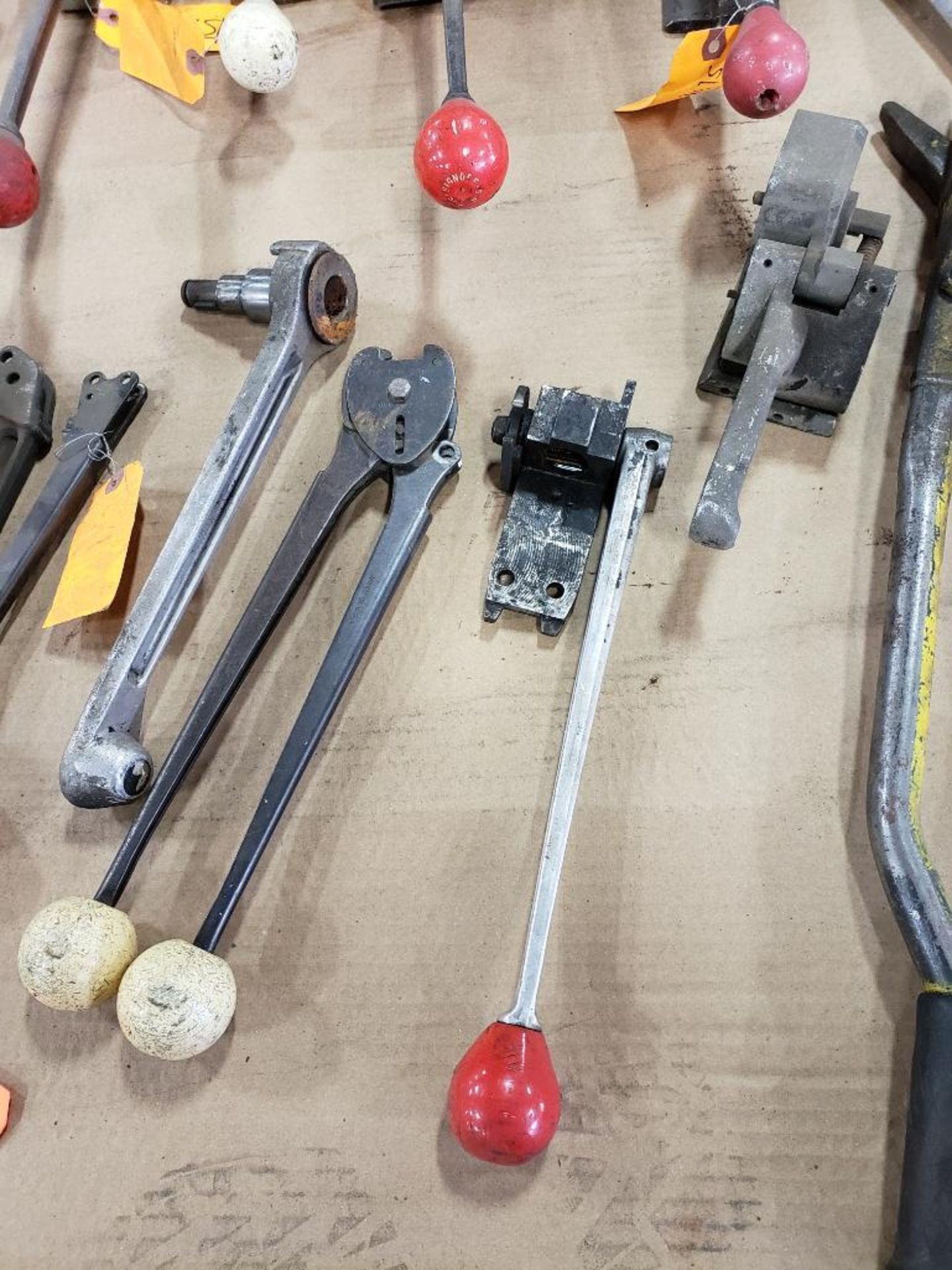 Assorted banding tools for parts or repair. - Image 3 of 9