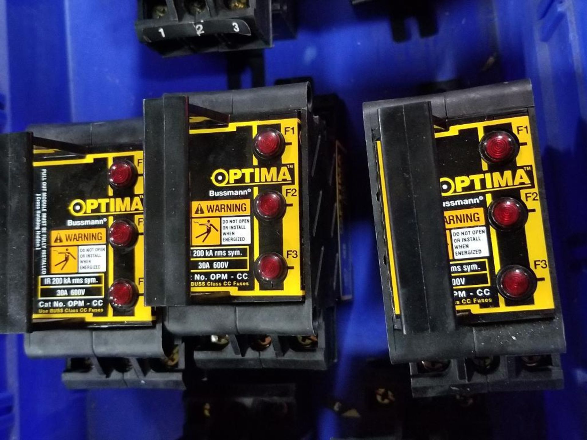 Assorted Bussmann Optima overcurrent protection module. - Image 3 of 7