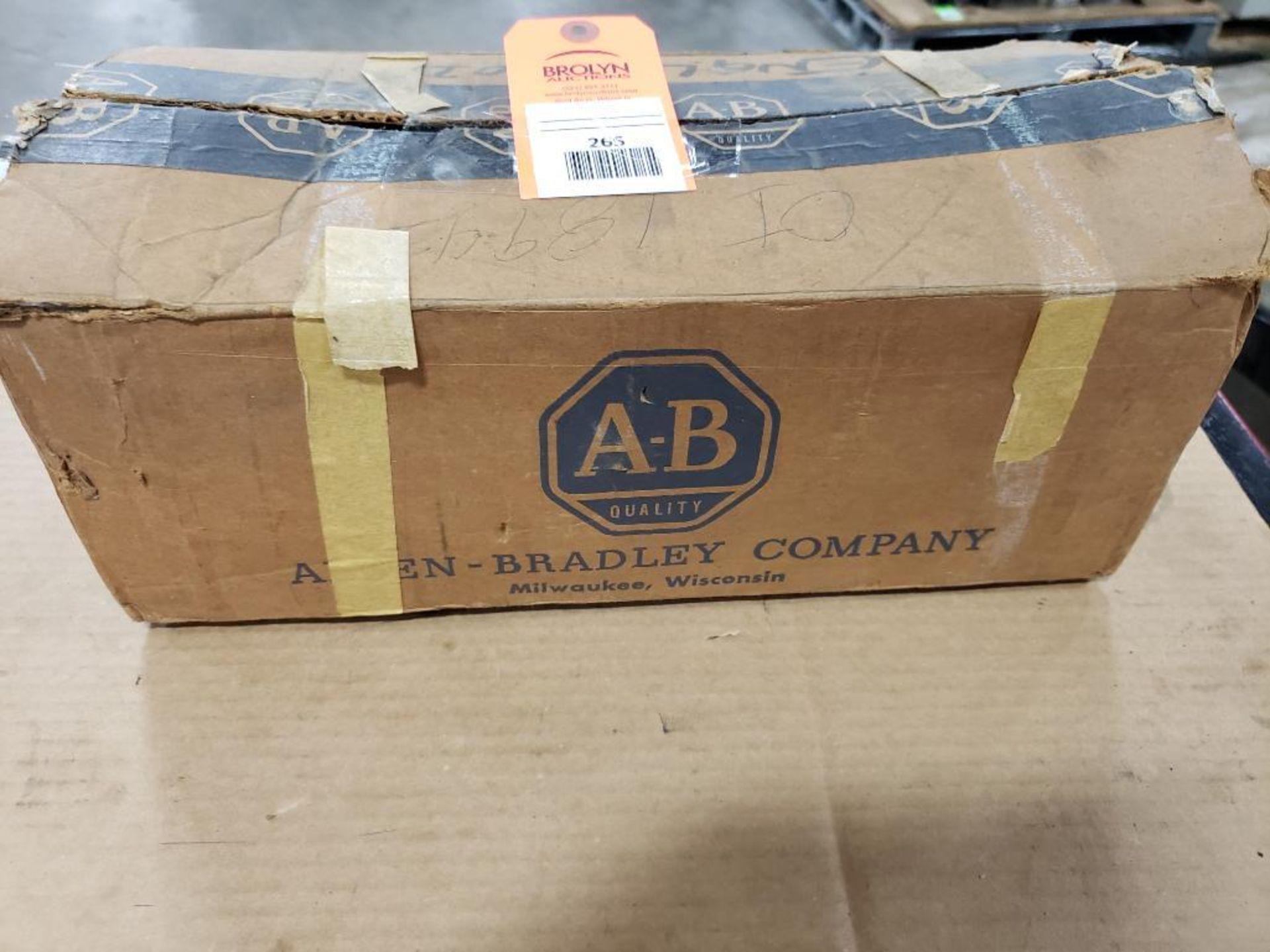 Allen Bradley 1720-R16 Logic Card Rack 16-Card. new in Box.