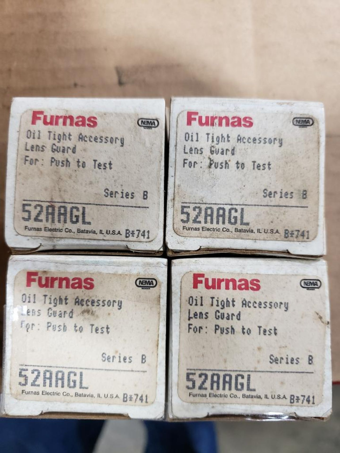 Assorted electrical relays, switches. Furnas. - Image 4 of 8