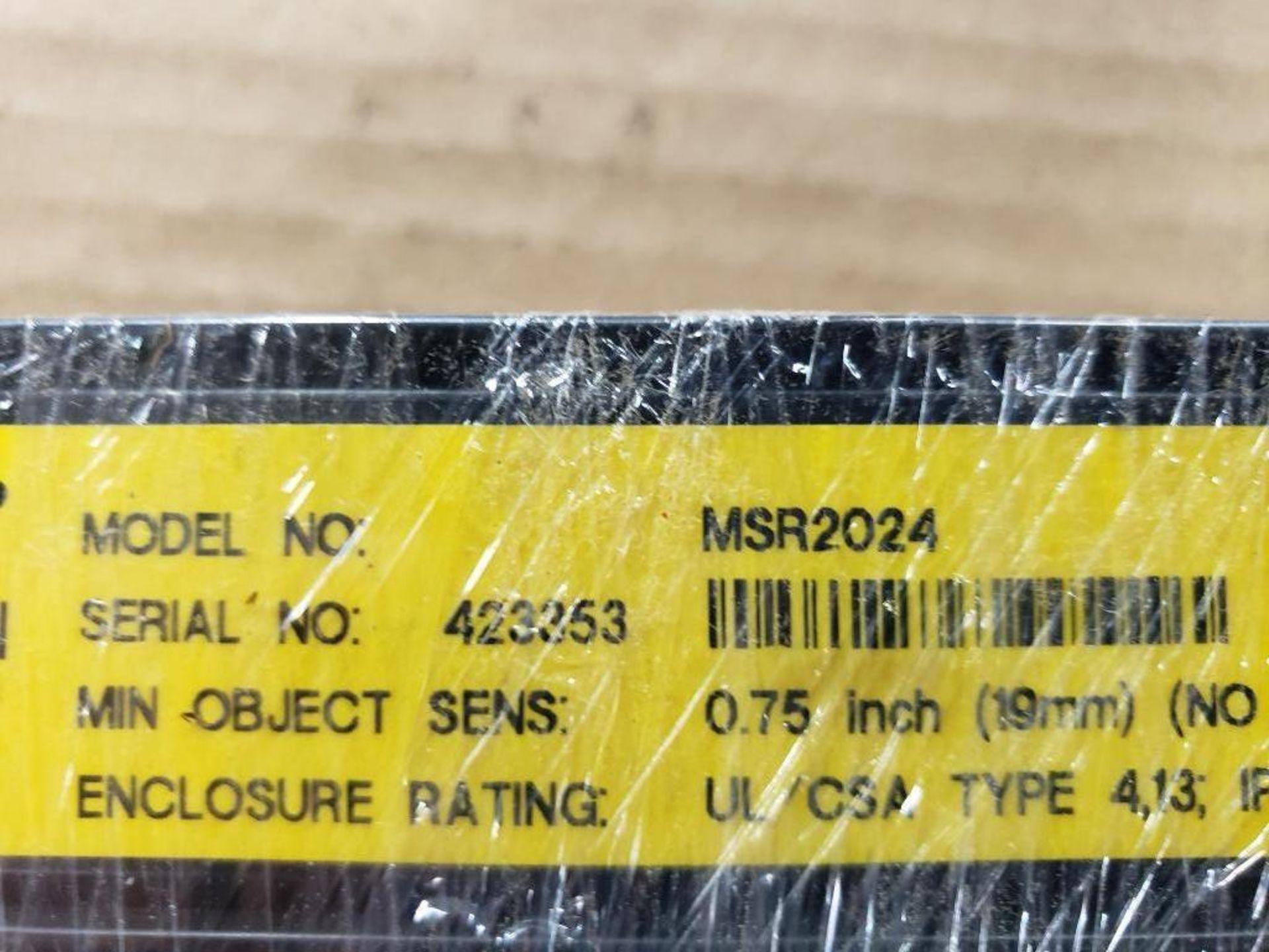 Banner Light curtain transmitter / receiver set. MSE1624, MSR2024. - Image 3 of 7