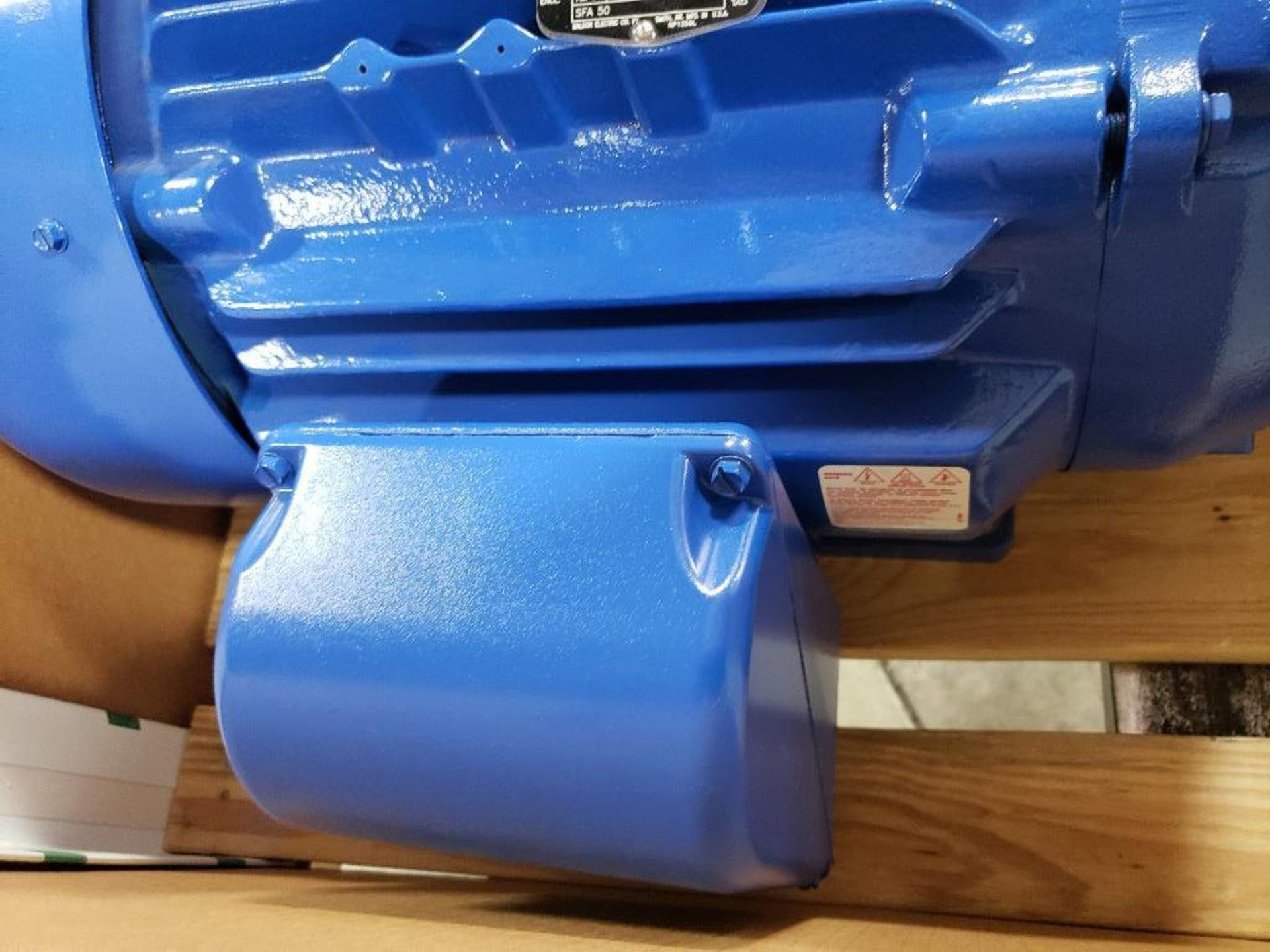 30HP Baldor Reliance 3PH motor. 2013006282. 380V, 3530RPM, 284TSC-Frame. - Image 6 of 8