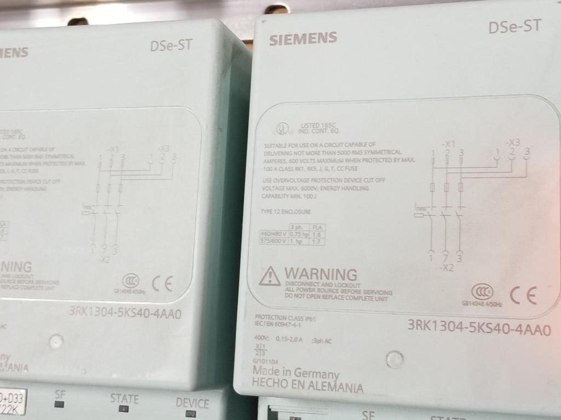 Siemens RSe-ST Reversing starter, DSe-ST Disconnect module flow control line. - Image 2 of 9