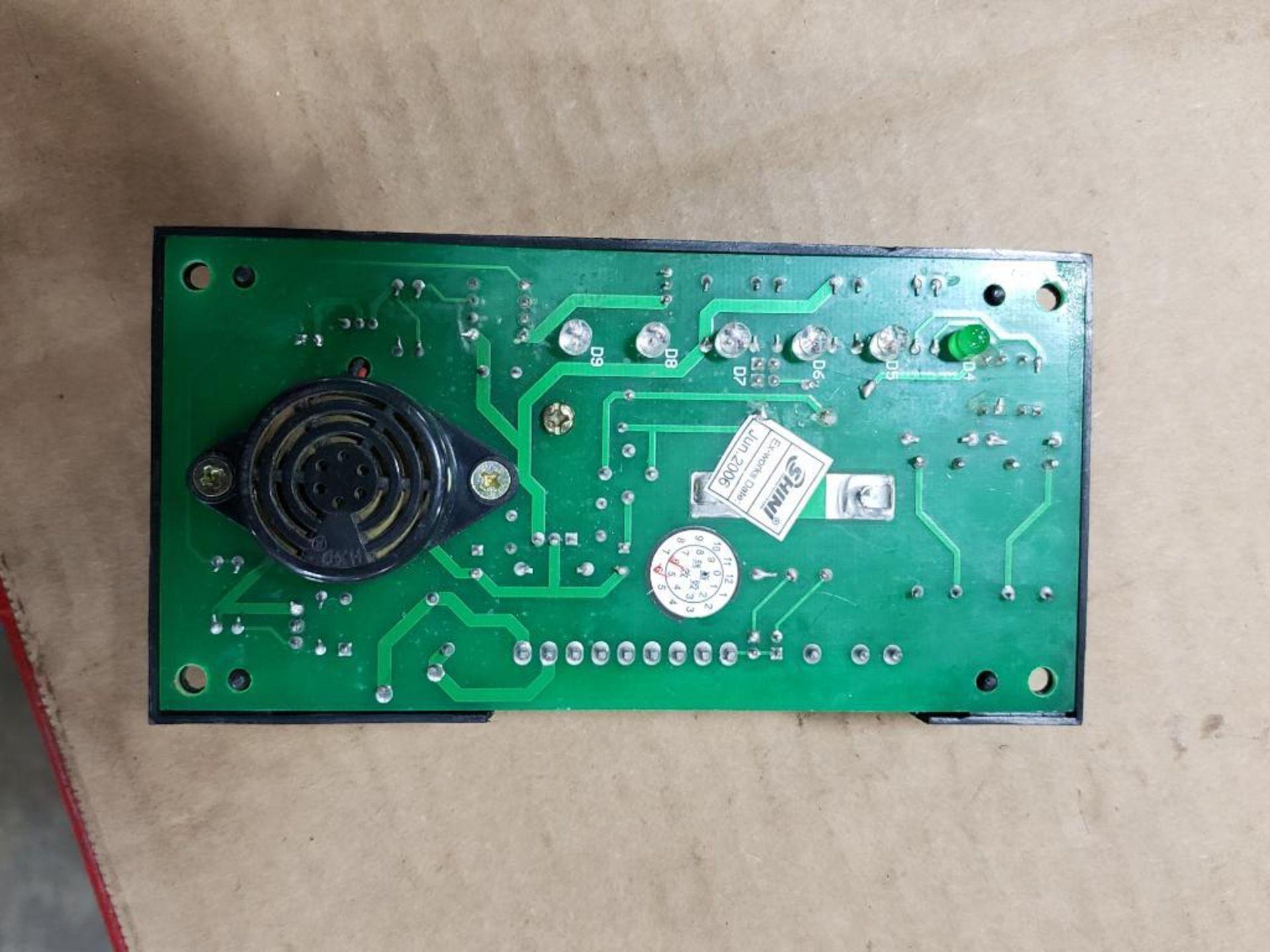 Qty 3 - Shini Si4T-1A control board. - Image 7 of 11