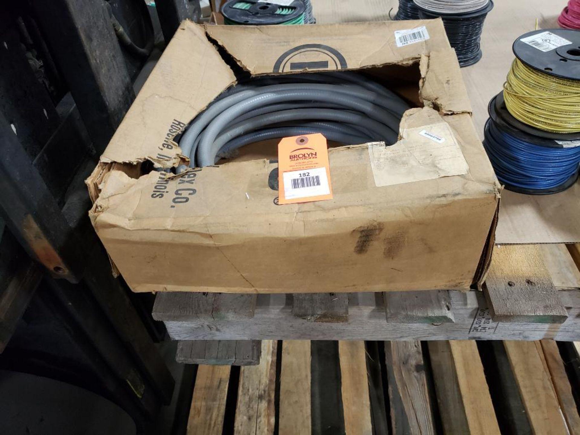 "Liquatite 5YH52 3/8"" Flexible conduit. 100Ft."