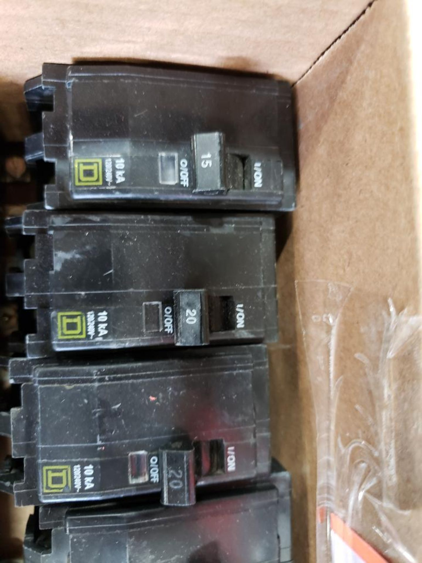 Assorted Square-D Breakers. - Image 2 of 9