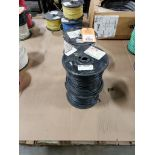 Qty 4 - Spool of CME contractor wire. 14AWG-BLACK, 14GA-BLACK.