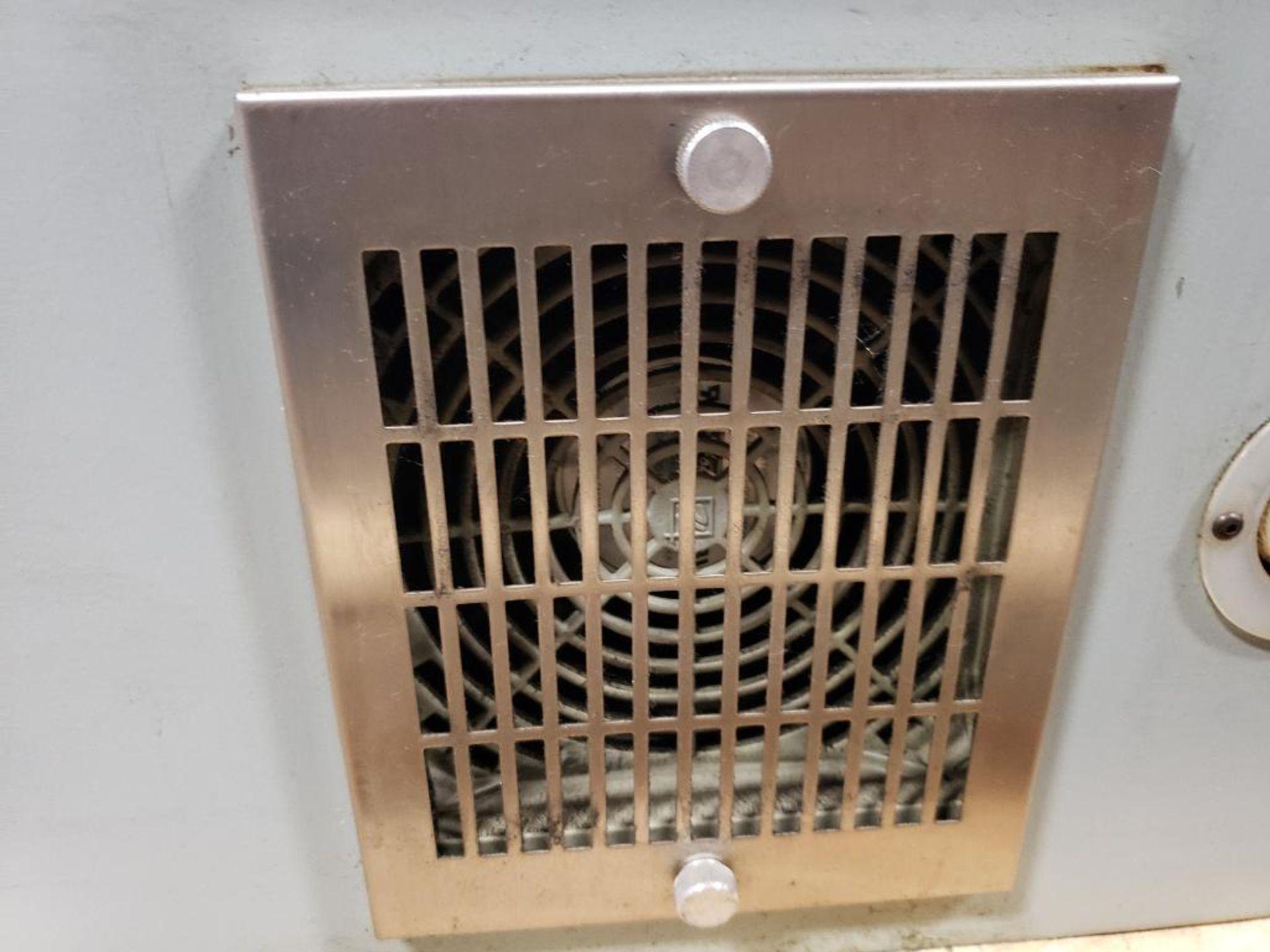 Chiller control cabinet. Hoffman enclosure, Cutler Hammer AF93AG0B007D drive, Allen Bradley drive. - Image 5 of 35