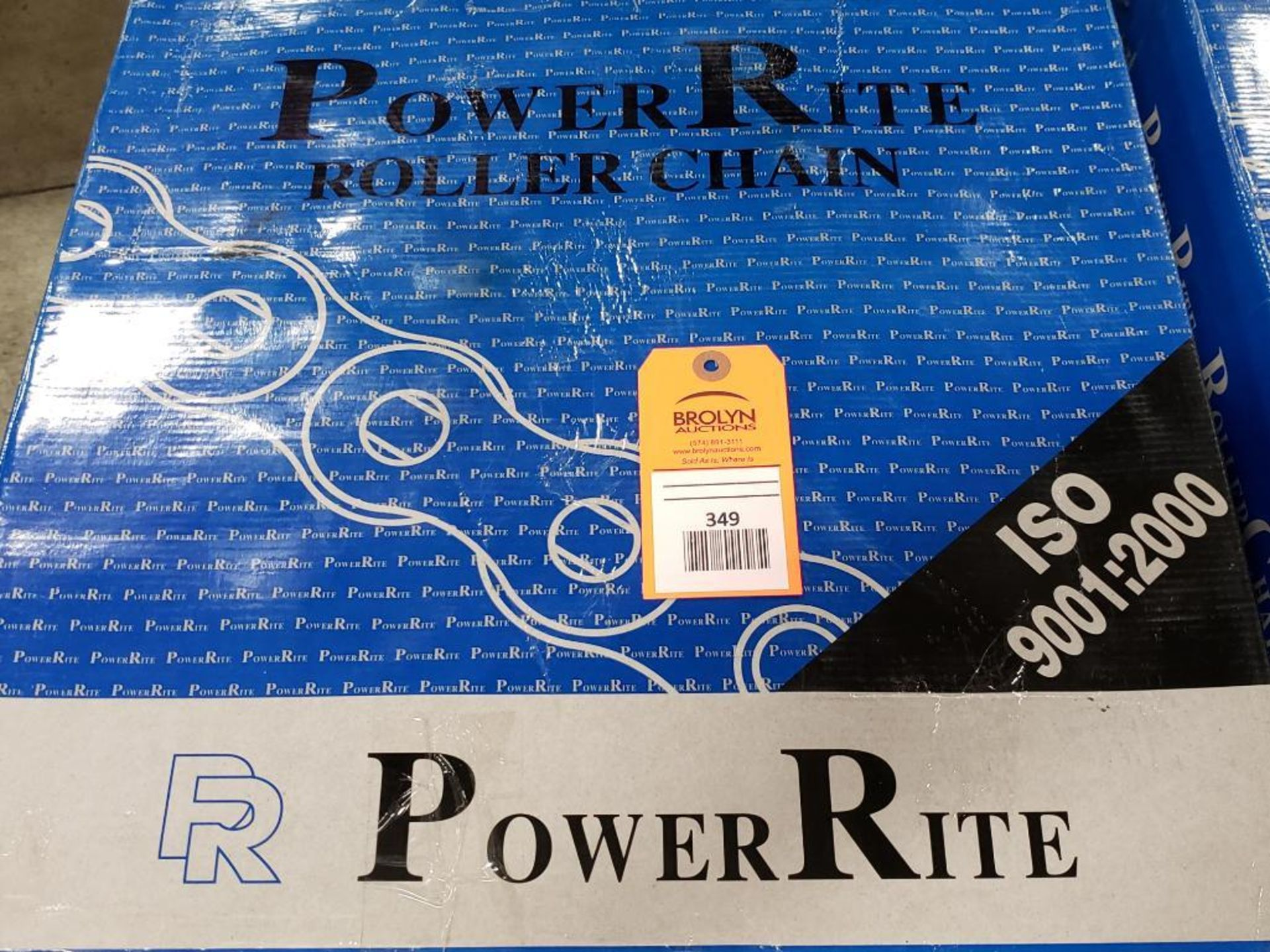 Power Rite ANSI 200-1R-10FT Roller Chain. New in Box.