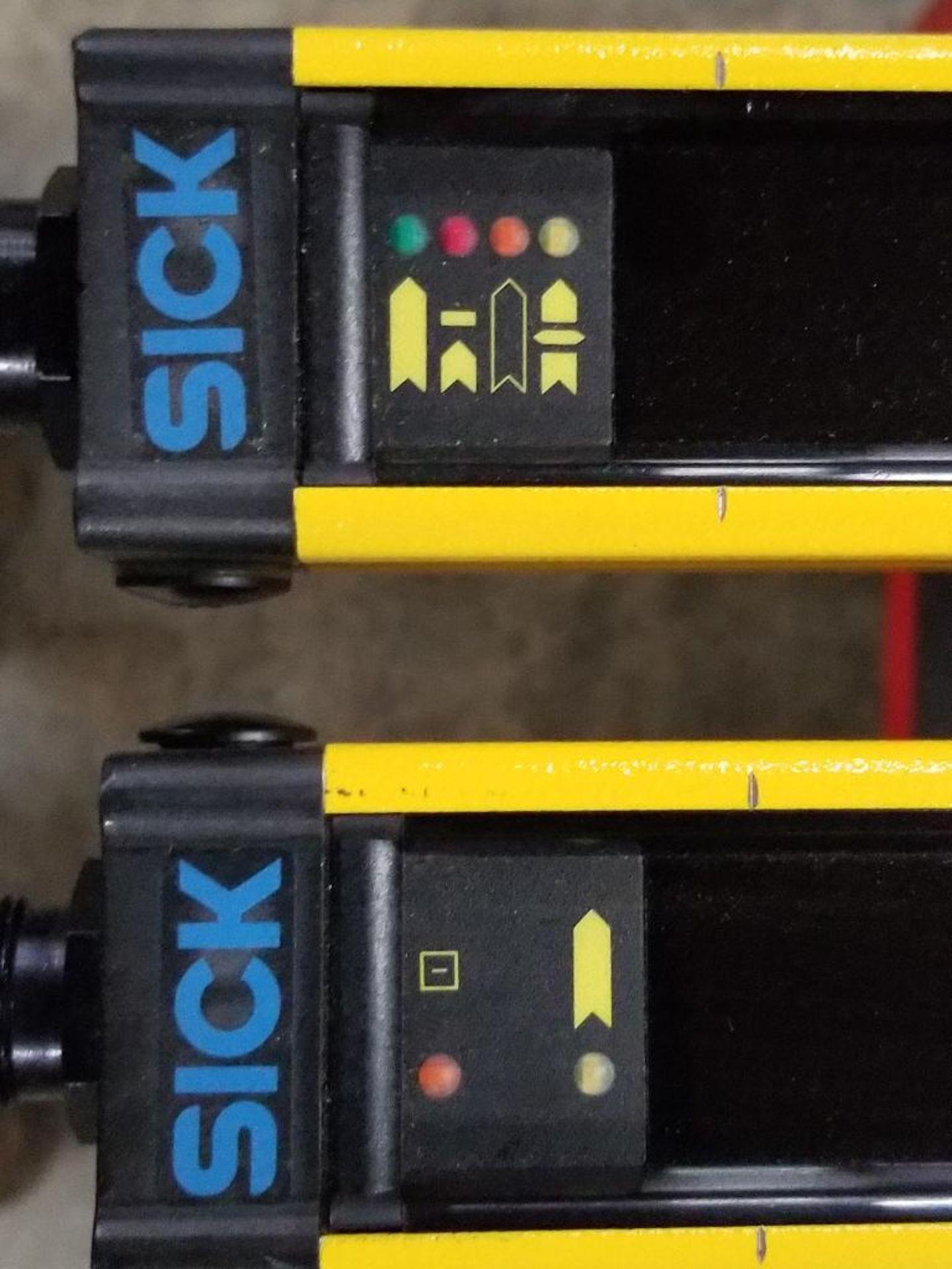 SICK Light curtain transmitter / receiver set. 14-FGS 1-012-767, 1-012-768. - Image 2 of 10