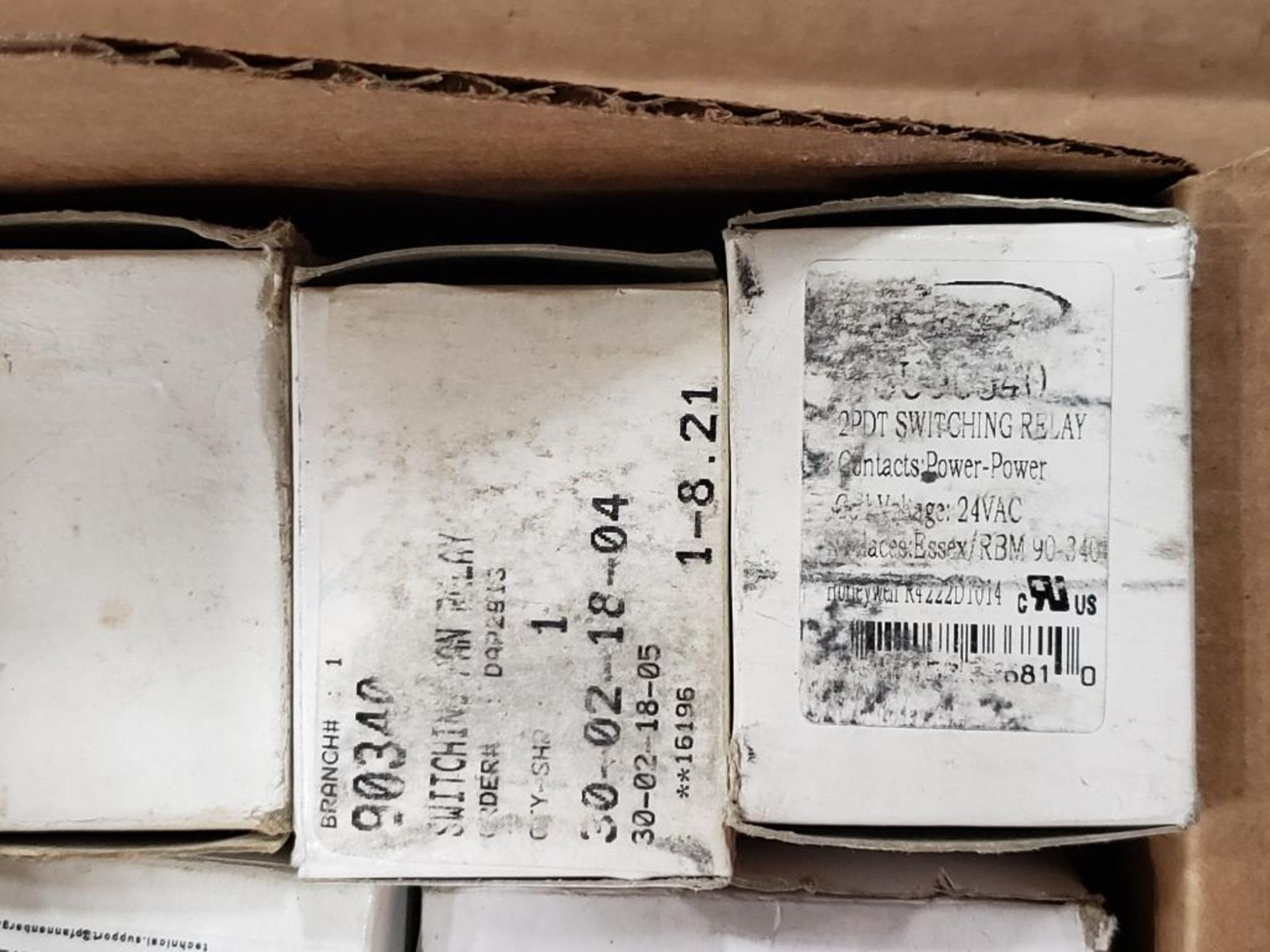 Assorted electrical relays. Hammond, ServiceFirst, White Rogers. - Image 4 of 8