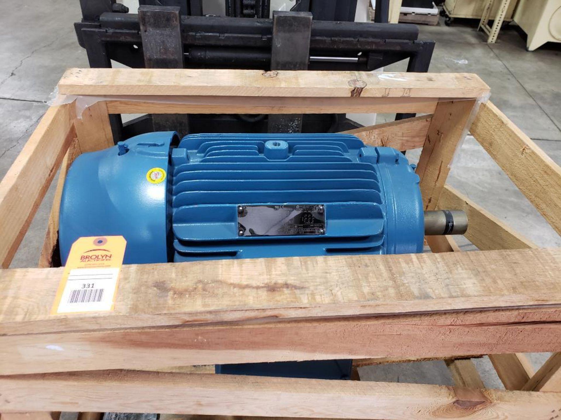 50HP WEG 3PH Inverter Duty Motor. 23ENE2015. 575V, 1775RPM, 324/6T-Frame.
