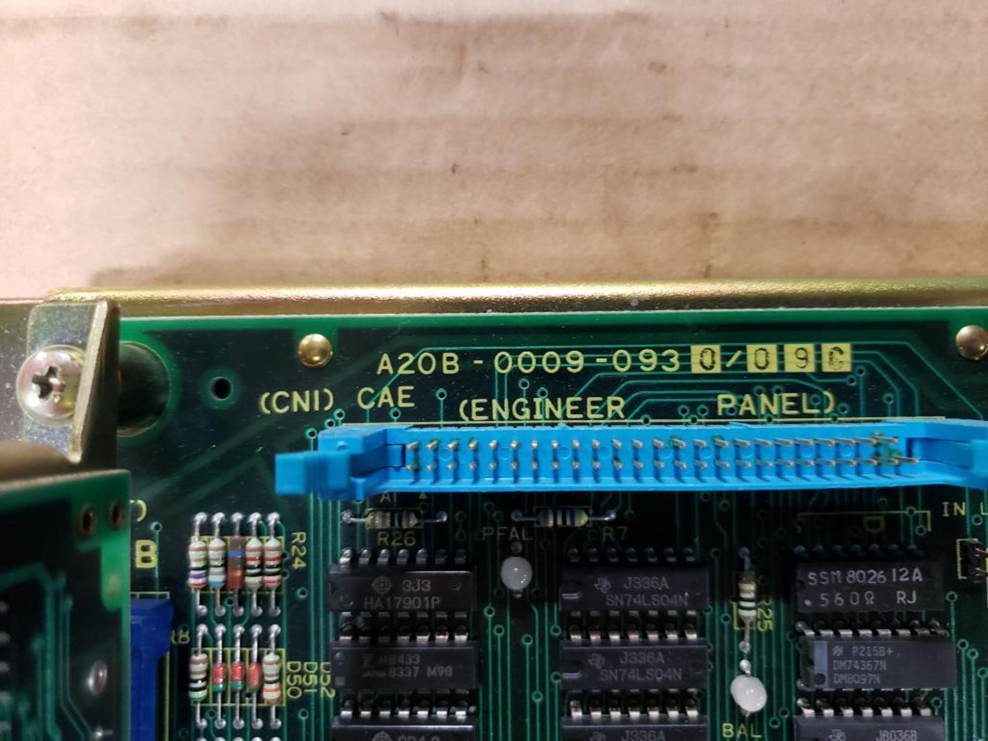 Fanuc A20B-0009-0930/09C Motherboard. - Image 18 of 20
